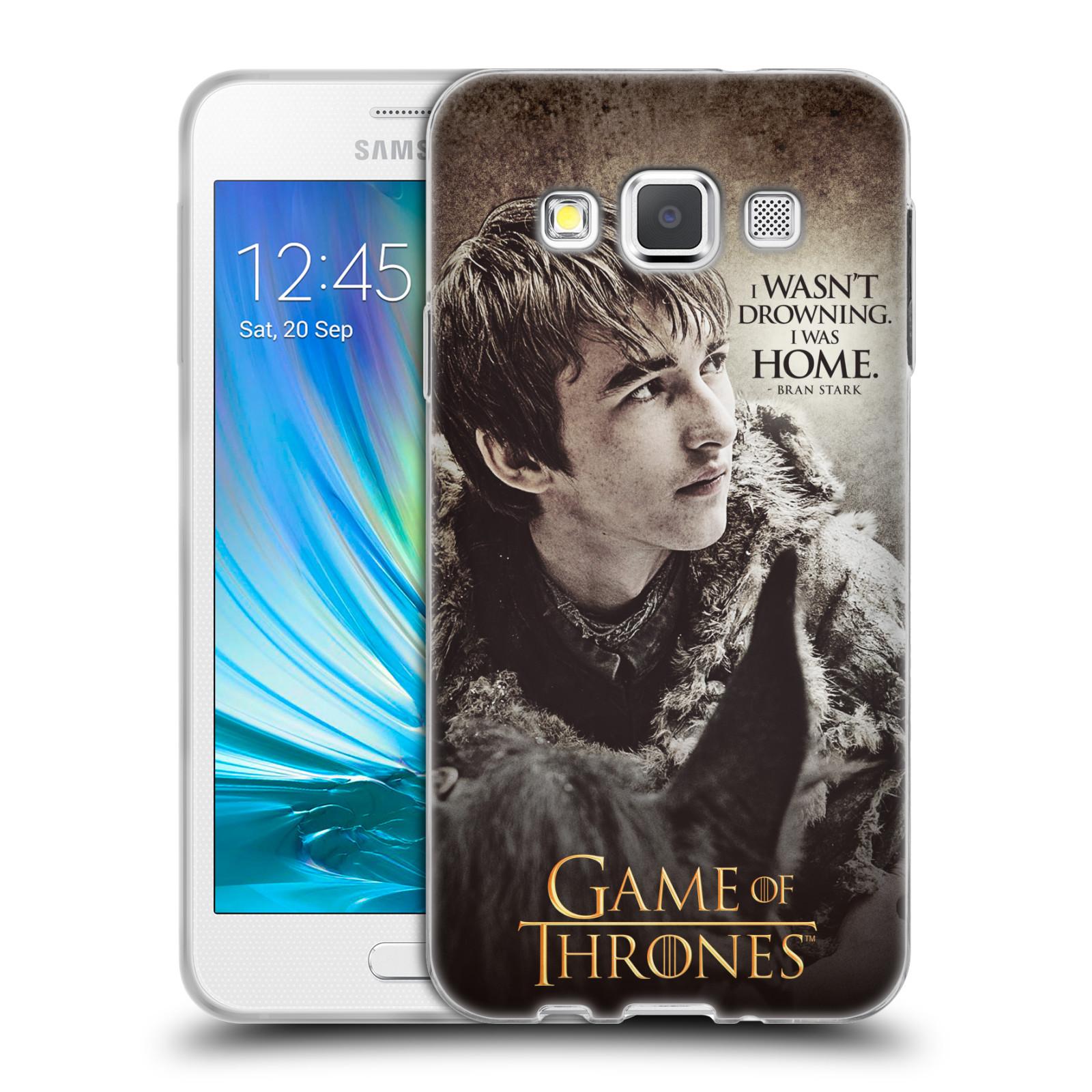 HEAD CASE silikonový obal na mobil Samsung Galaxy A3 (A300) oficiální kryt Hra o trůny Bran Stark