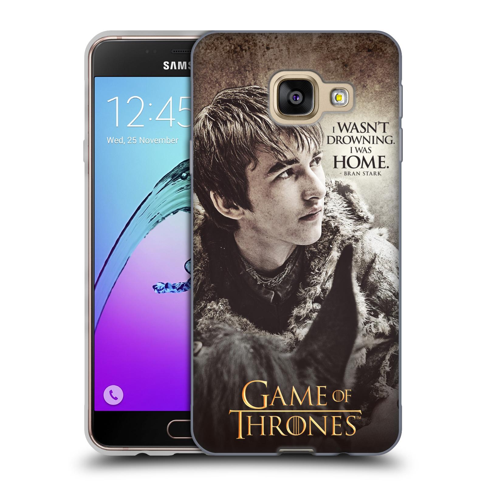 HEAD CASE silikonový obal na mobil Samsung Galaxy A3 2016 (A310) oficiální kryt Hra o trůny Bran Stark