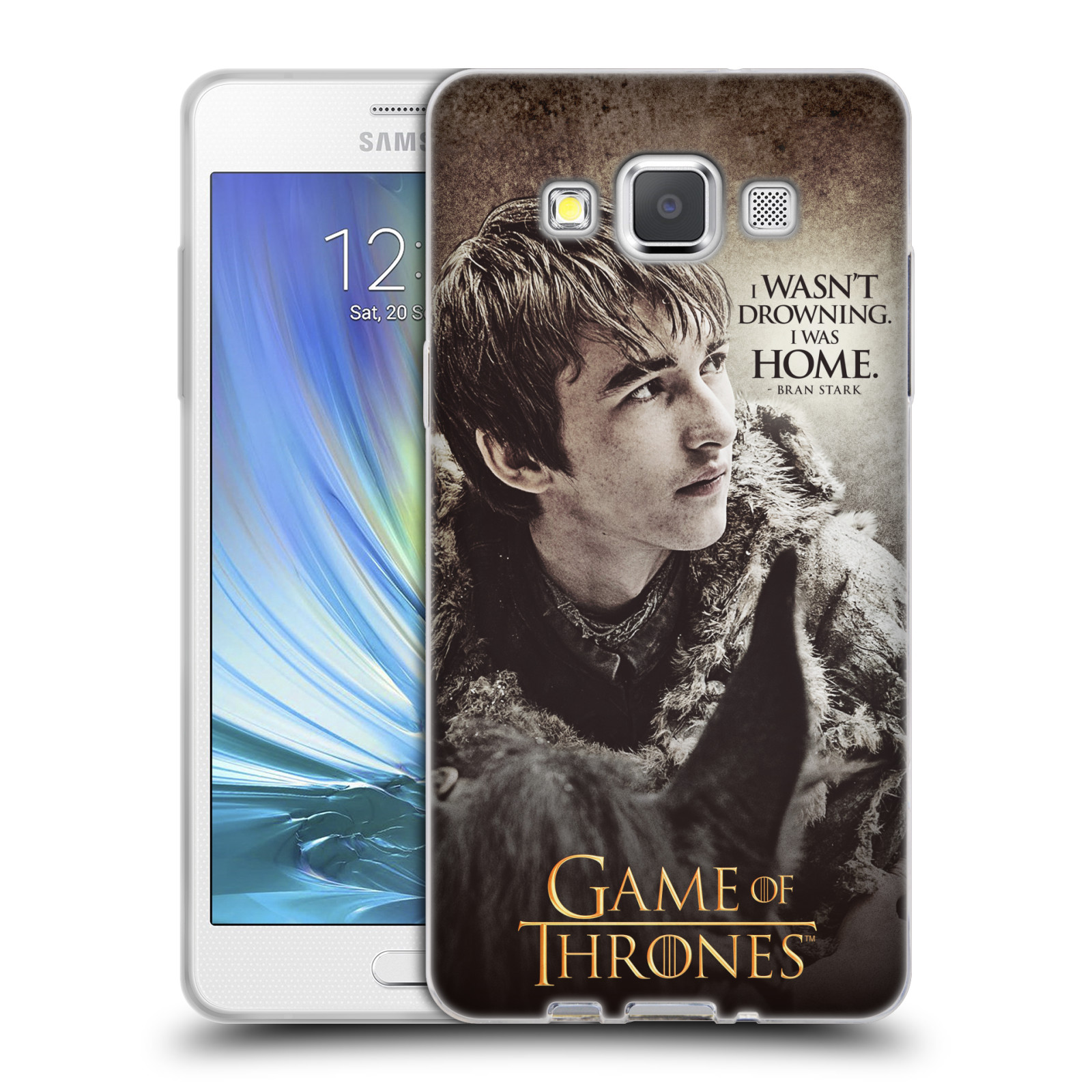 HEAD CASE silikonový obal na mobil Samsung Galaxy A5 (A500) oficiální kryt Hra o trůny Bran Stark