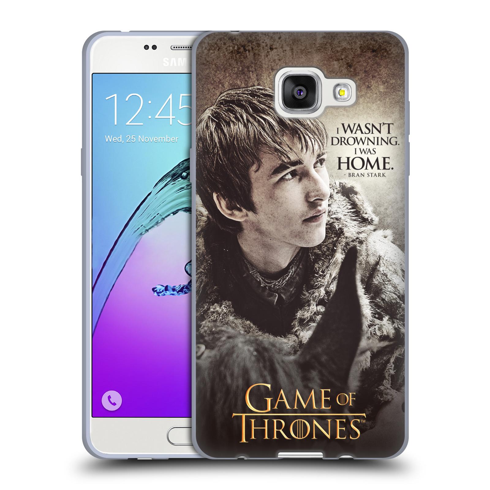 HEAD CASE silikonový obal na mobil Samsung Galaxy A5 2016 (A510) oficiální kryt Hra o trůny Bran Stark