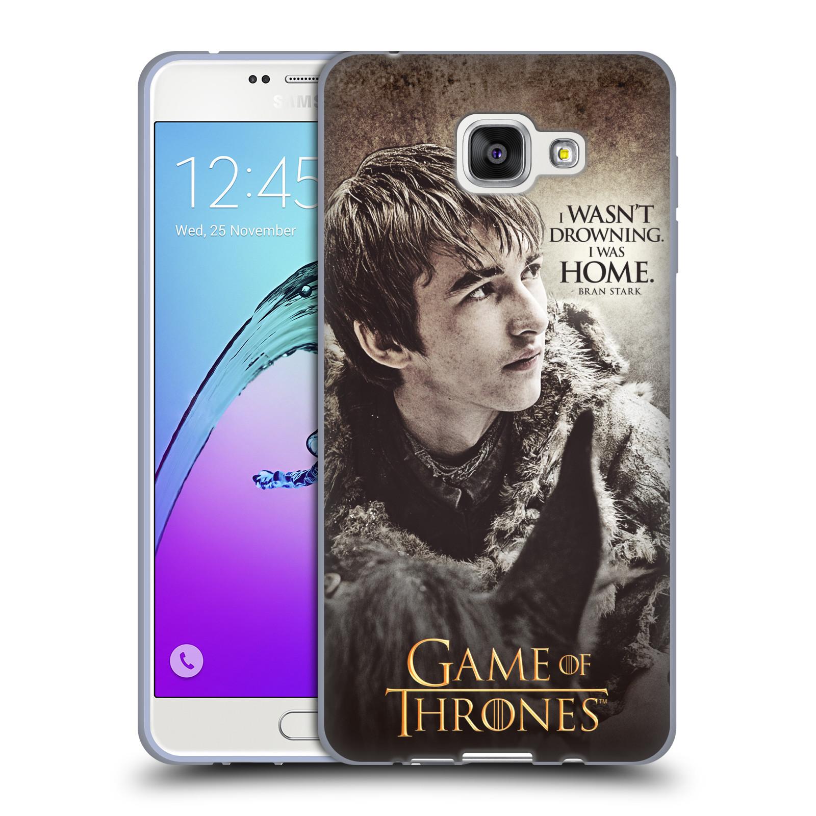 HEAD CASE silikonový obal na mobil Samsung Galaxy A7 2016 (A710) oficiální kryt Hra o trůny Bran Stark