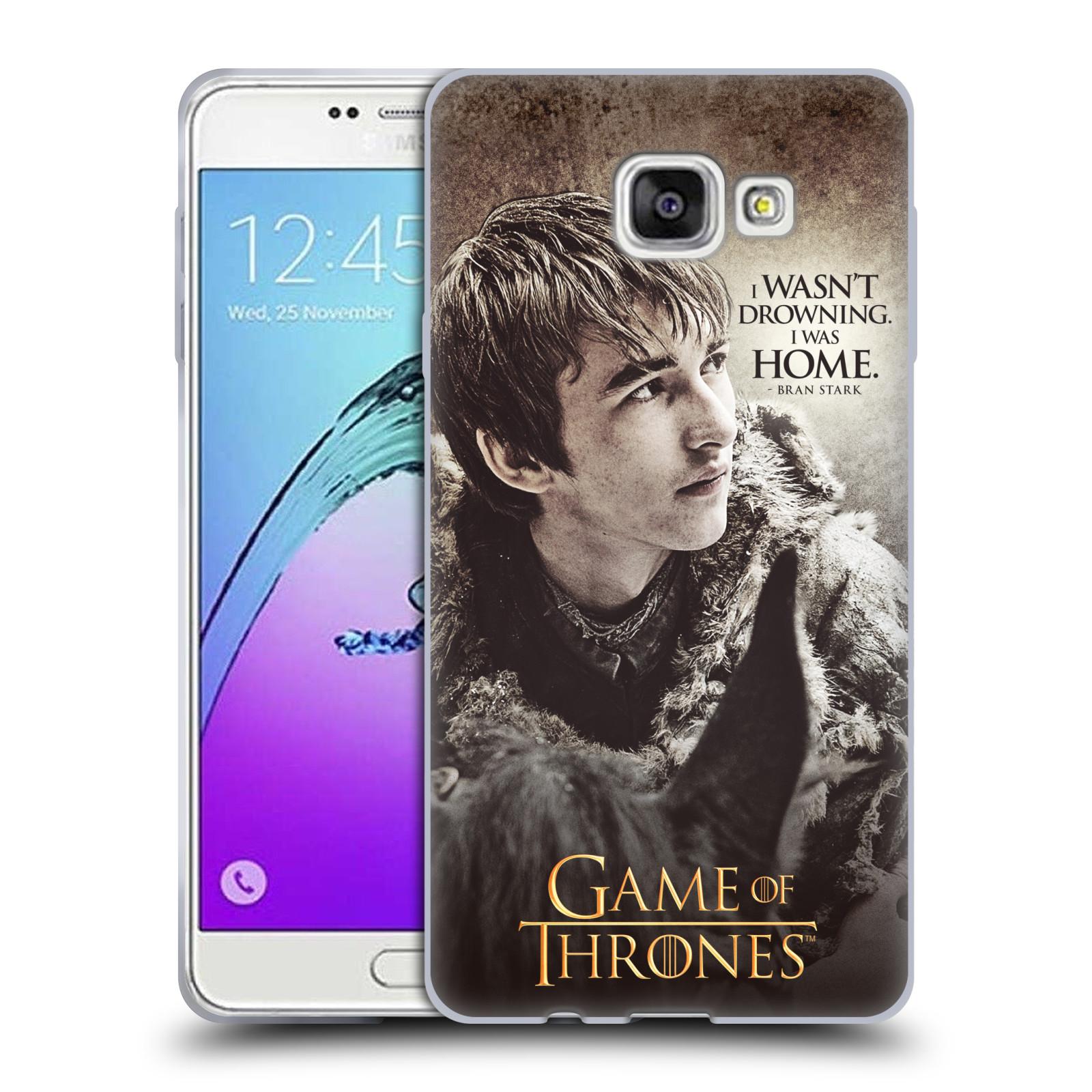 HEAD CASE silikonový obal na mobil Samsung Galaxy A7 2017 (A720) oficiální kryt Hra o trůny Bran Stark