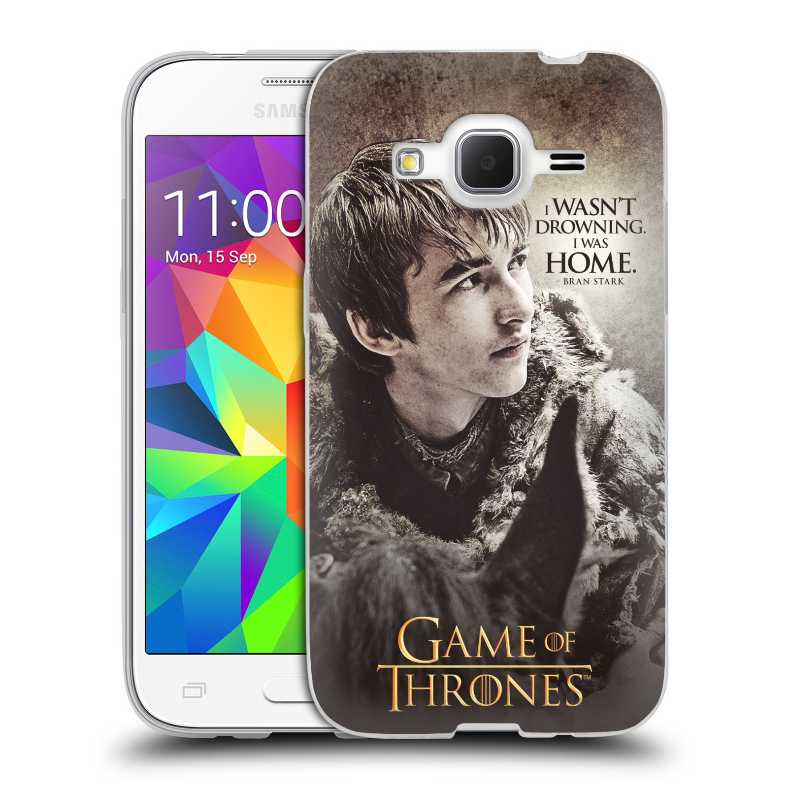 HEAD CASE silikonový obal na mobil Samsung Galaxy Core Prime (G360) oficiální kryt Hra o trůny Bran Stark