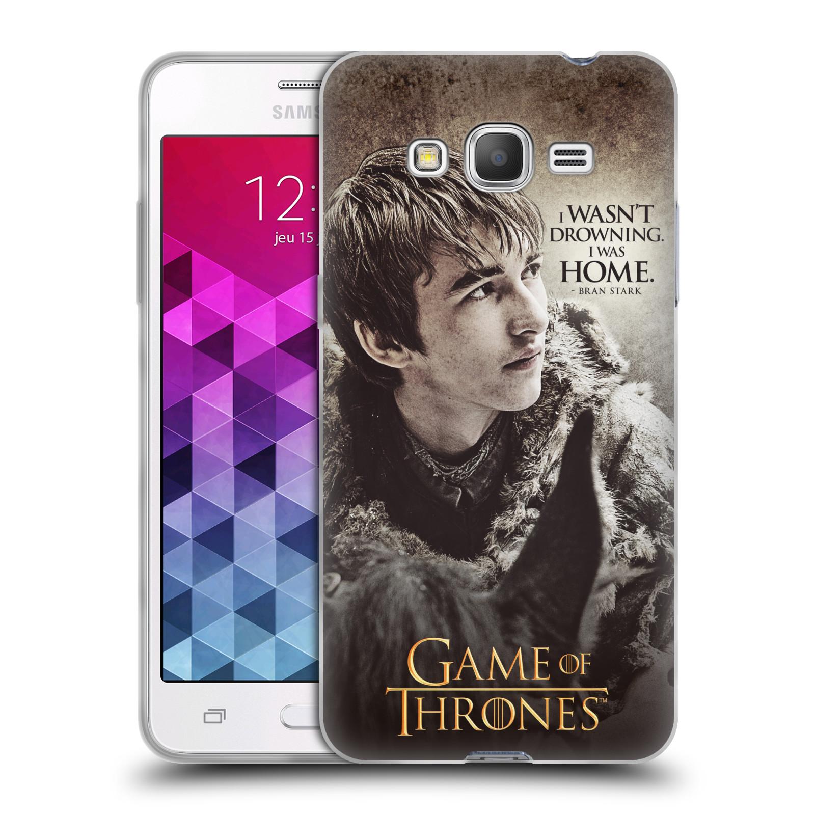 HEAD CASE silikonový obal na mobil Samsung Galaxy Grand Prime oficiální kryt Hra o trůny Bran Stark