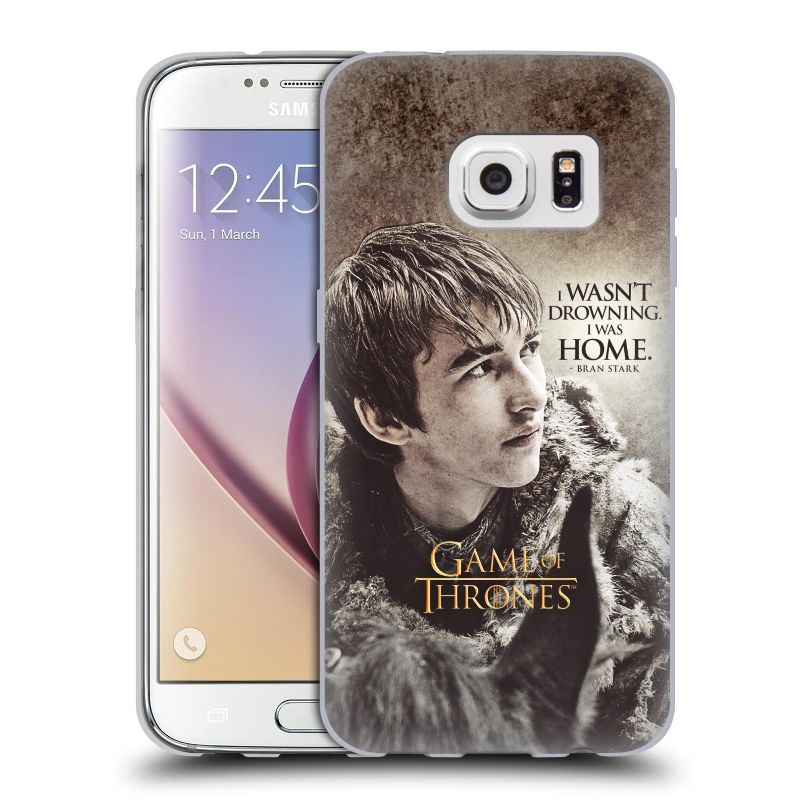 HEAD CASE silikonový obal na mobil Samsung Galaxy S7 oficiální kryt Hra o trůny Bran Stark