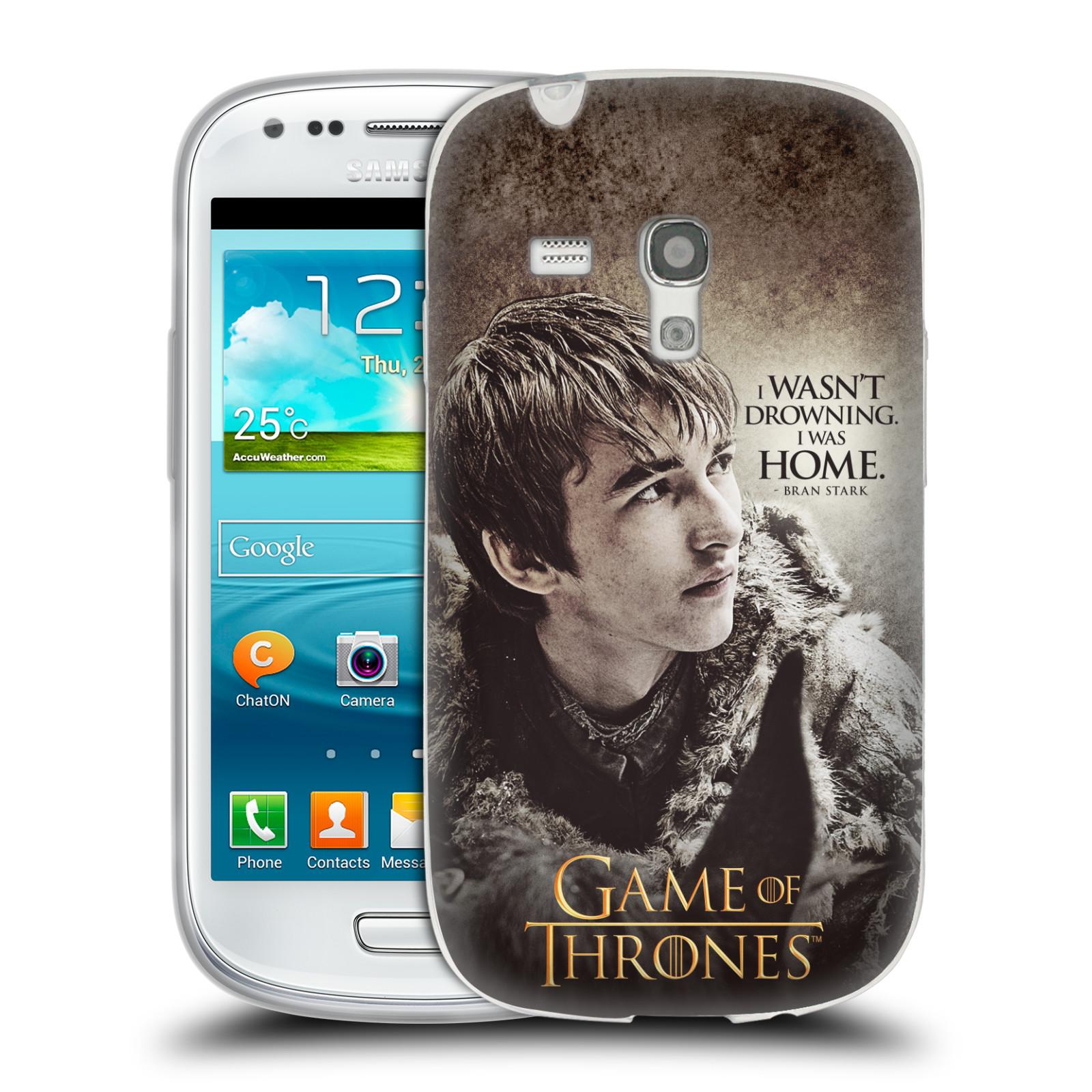 HEAD CASE silikonový obal na mobil Samsung Galaxy S3 MINI oficiální kryt Hra o trůny Bran Stark