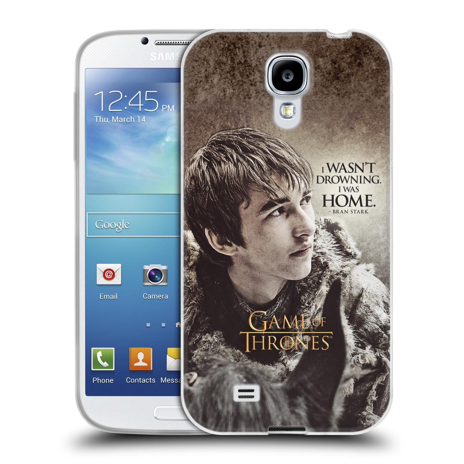 HEAD CASE silikonový obal na mobil Samsung Galaxy S4 oficiální kryt Hra o trůny Bran Stark