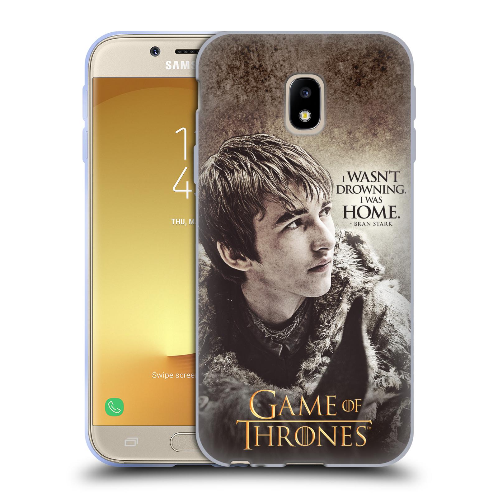 HEAD CASE silikonový obal na mobil Samsung Galaxy J3 2017 (J330, J330F) oficiální kryt Hra o trůny Bran Stark