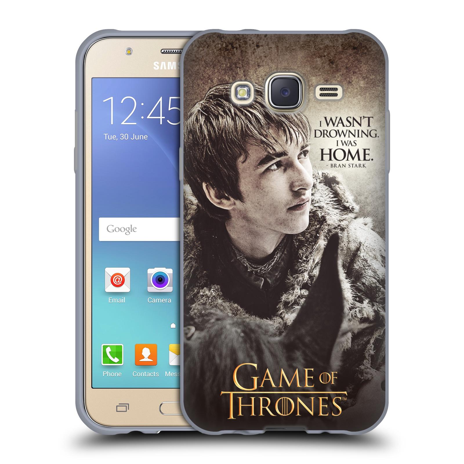 HEAD CASE silikonový obal na mobil Samsung Galaxy J5 2015 (J500) oficiální kryt Hra o trůny Bran Stark