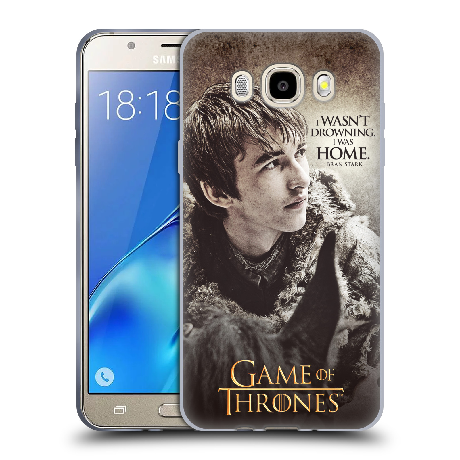 HEAD CASE silikonový obal na mobil Samsung Galaxy J5 2016 (J510) oficiální kryt Hra o trůny Bran Stark