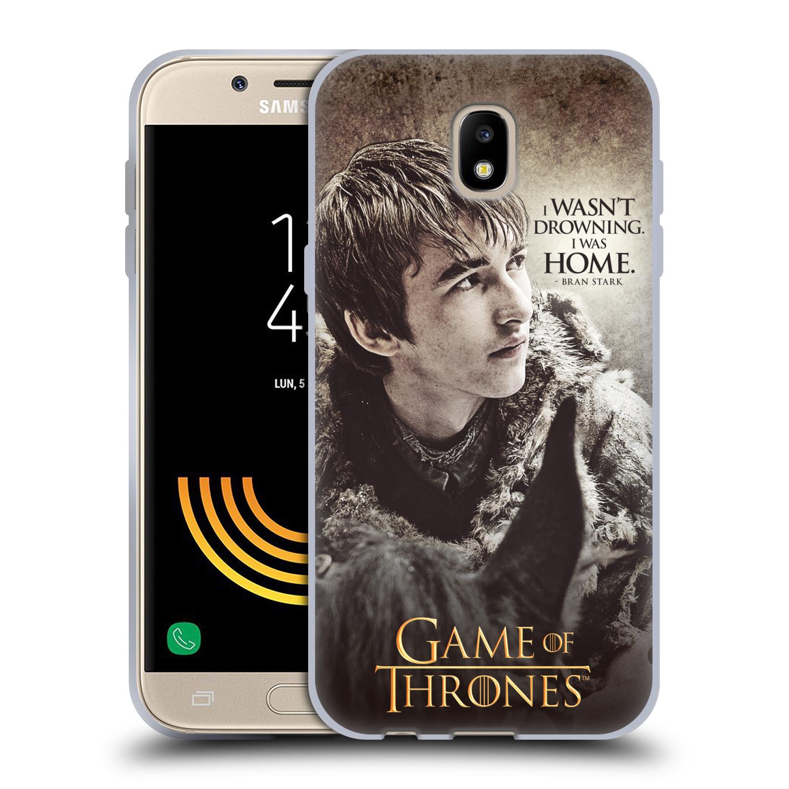 HEAD CASE silikonový obal na mobil Samsung Galaxy J5 2017 oficiální kryt Hra o trůny Bran Stark