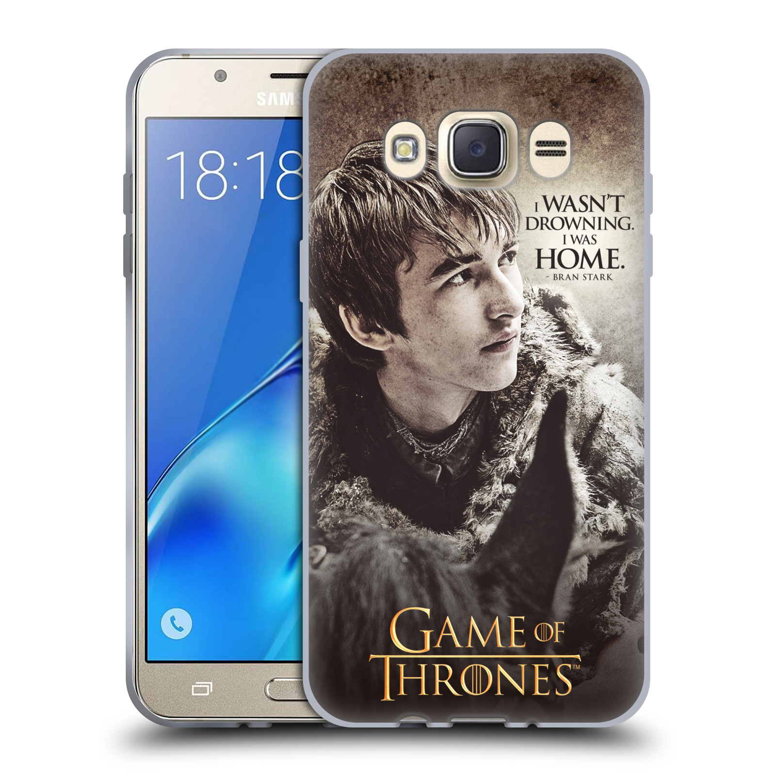 HEAD CASE silikonový obal na mobil Samsung Galaxy J7 2016 oficiální kryt Hra o trůny Bran Stark