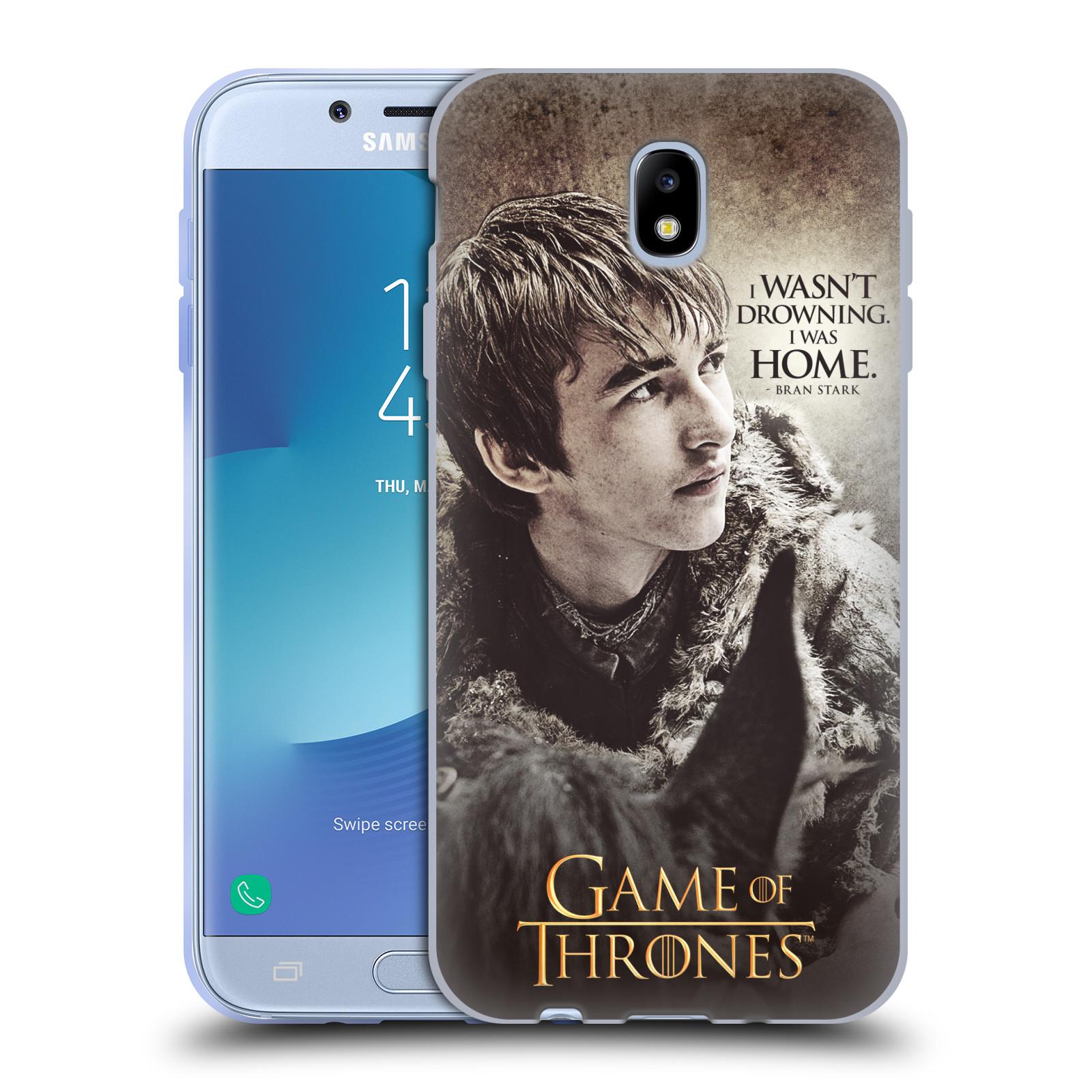 HEAD CASE silikonový obal na mobil Samsung Galaxy J7 2017 oficiální kryt Hra o trůny Bran Stark
