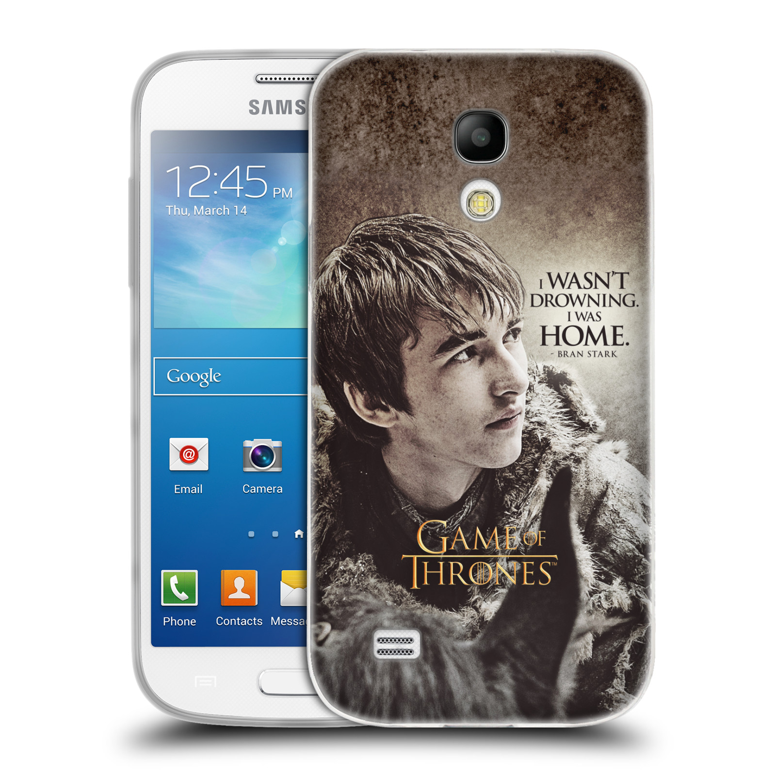 HEAD CASE silikonový obal na mobil Samsung Galaxy S4 MINI oficiální kryt Hra o trůny Bran Stark