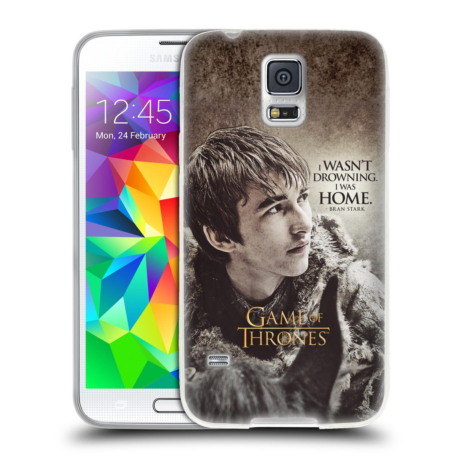 HEAD CASE silikonový obal na mobil Samsung Galaxy S5 oficiální kryt Hra o trůny Bran Stark