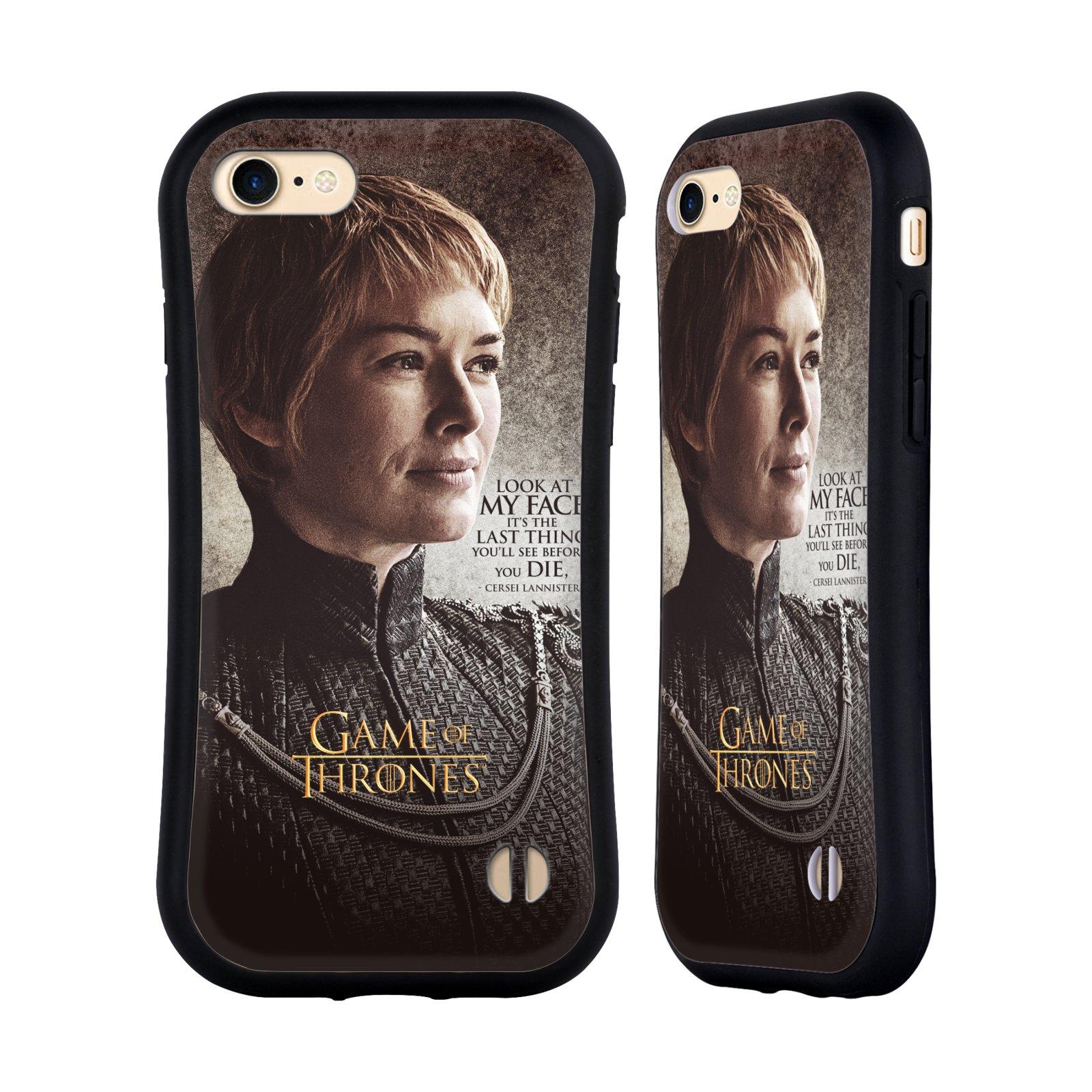 HEAD CASE odolný obal na mobil Apple Iphone 8 oficiální kryt Hra o trůny Cersei Lannister
