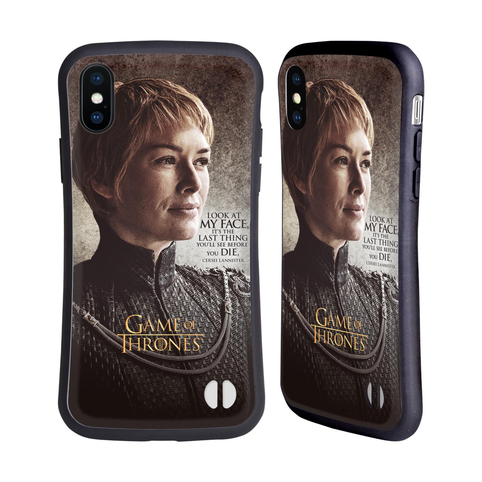 HEAD CASE odolný obal na mobil Apple Iphone X a XS oficiální kryt Hra o trůny Cersei Lannister