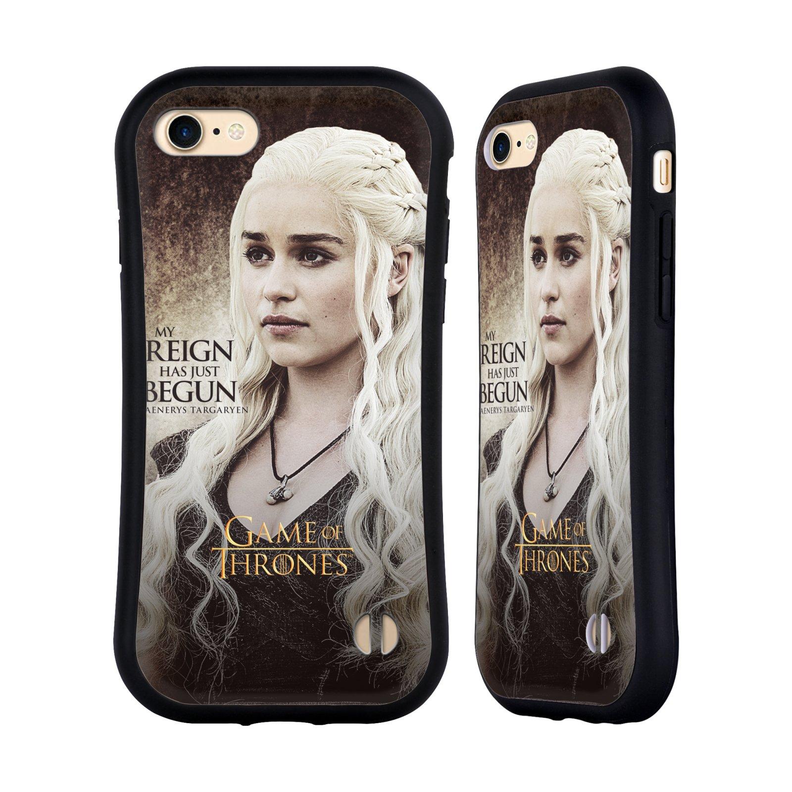 HEAD CASE odolný obal na mobil Apple Iphone 8 oficiální kryt Hra o trůny Daenerys Targaryen