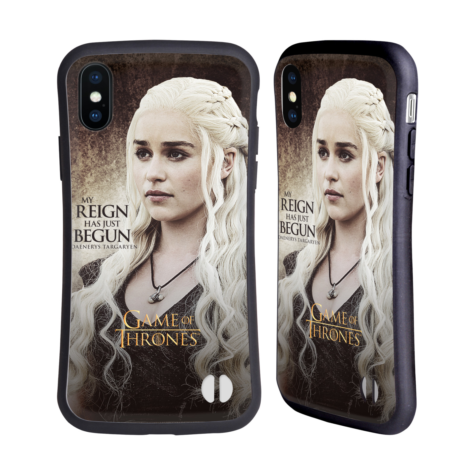 HEAD CASE odolný obal na mobil Apple Iphone X a XS oficiální kryt Hra o trůny Daenerys Targaryen