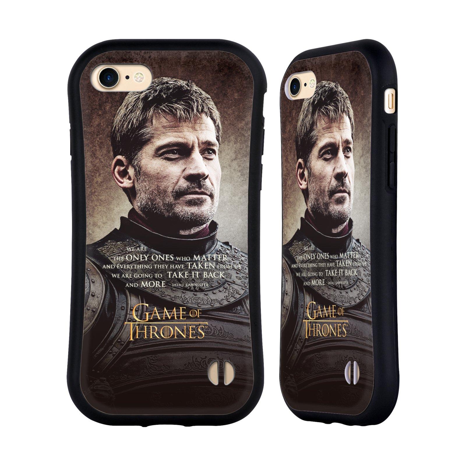 HEAD CASE odolný obal na mobil Apple Iphone 8 oficiální kryt Hra o trůny Jaime Lannister