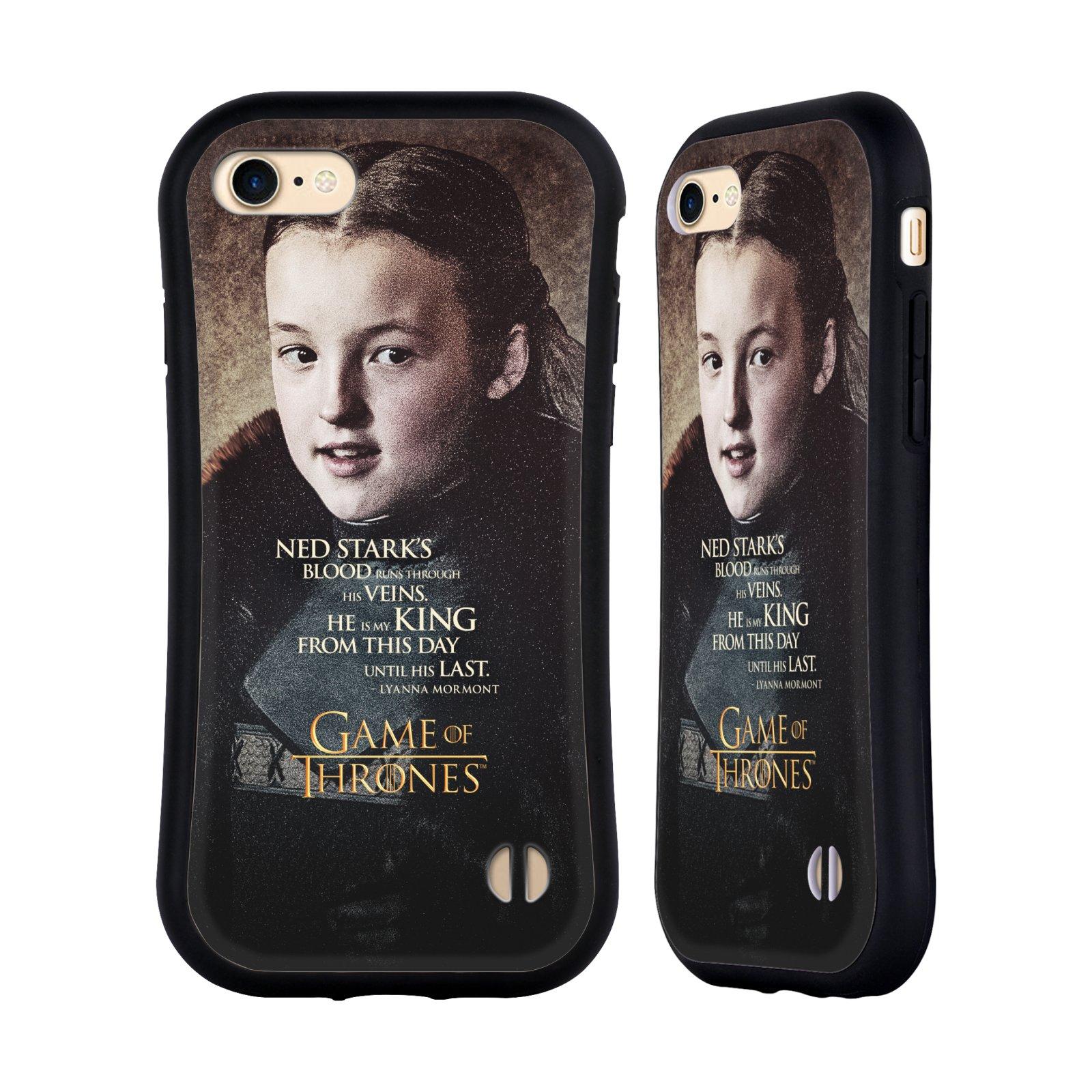 HEAD CASE odolný obal na mobil Apple Iphone 8 oficiální kryt Hra o trůny Lyanna Mormont