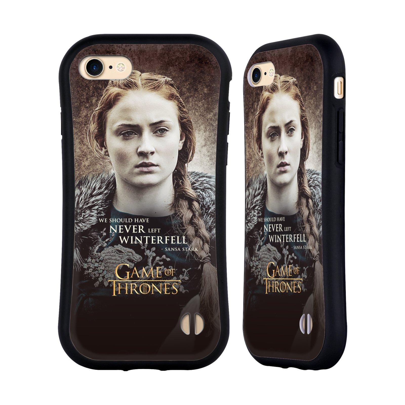 HEAD CASE odolný obal na mobil Apple Iphone 8 oficiální kryt Hra o trůny Sansa Stark