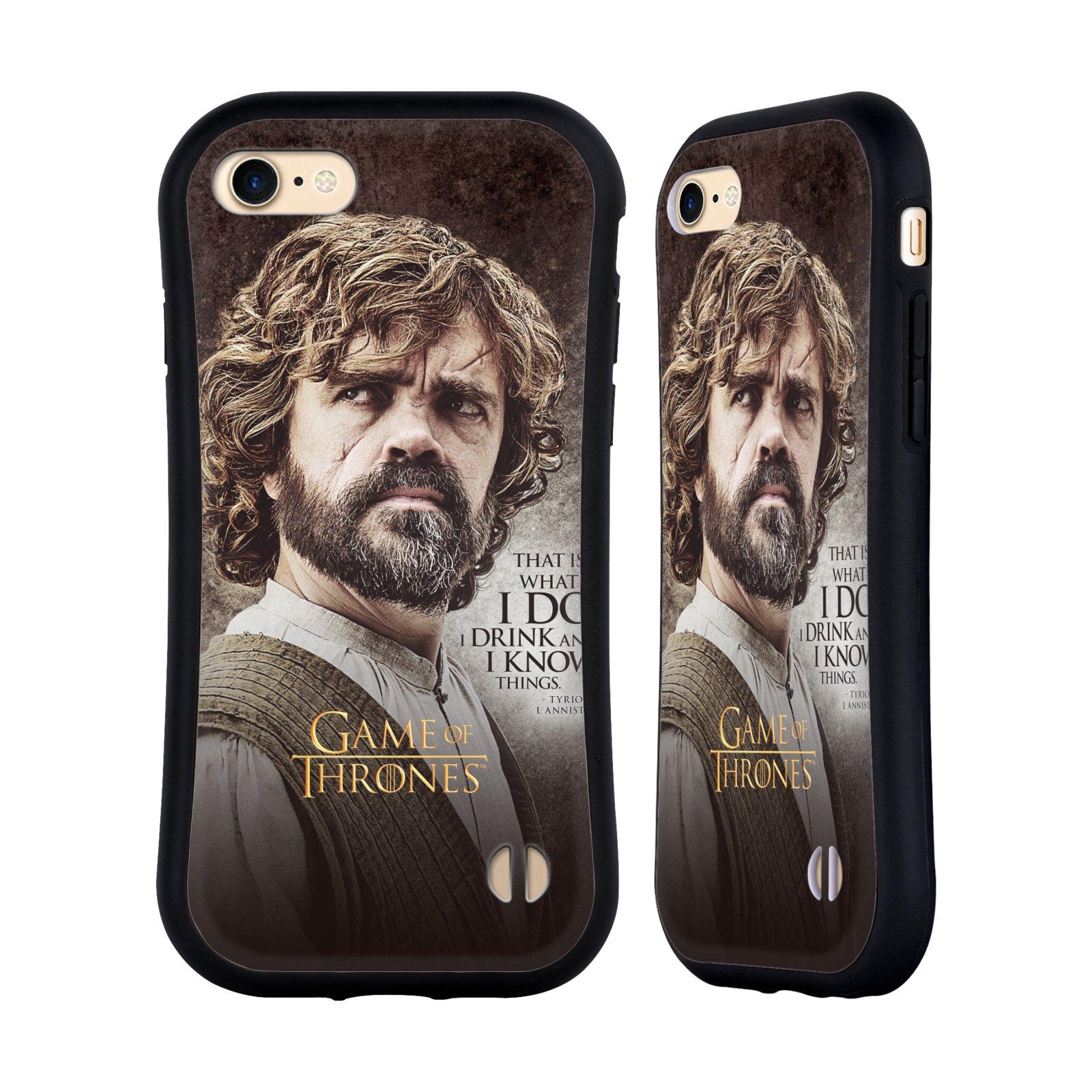 HEAD CASE odolný obal na mobil Apple Iphone 8 oficiální kryt Hra o trůny Tyrion Lannister