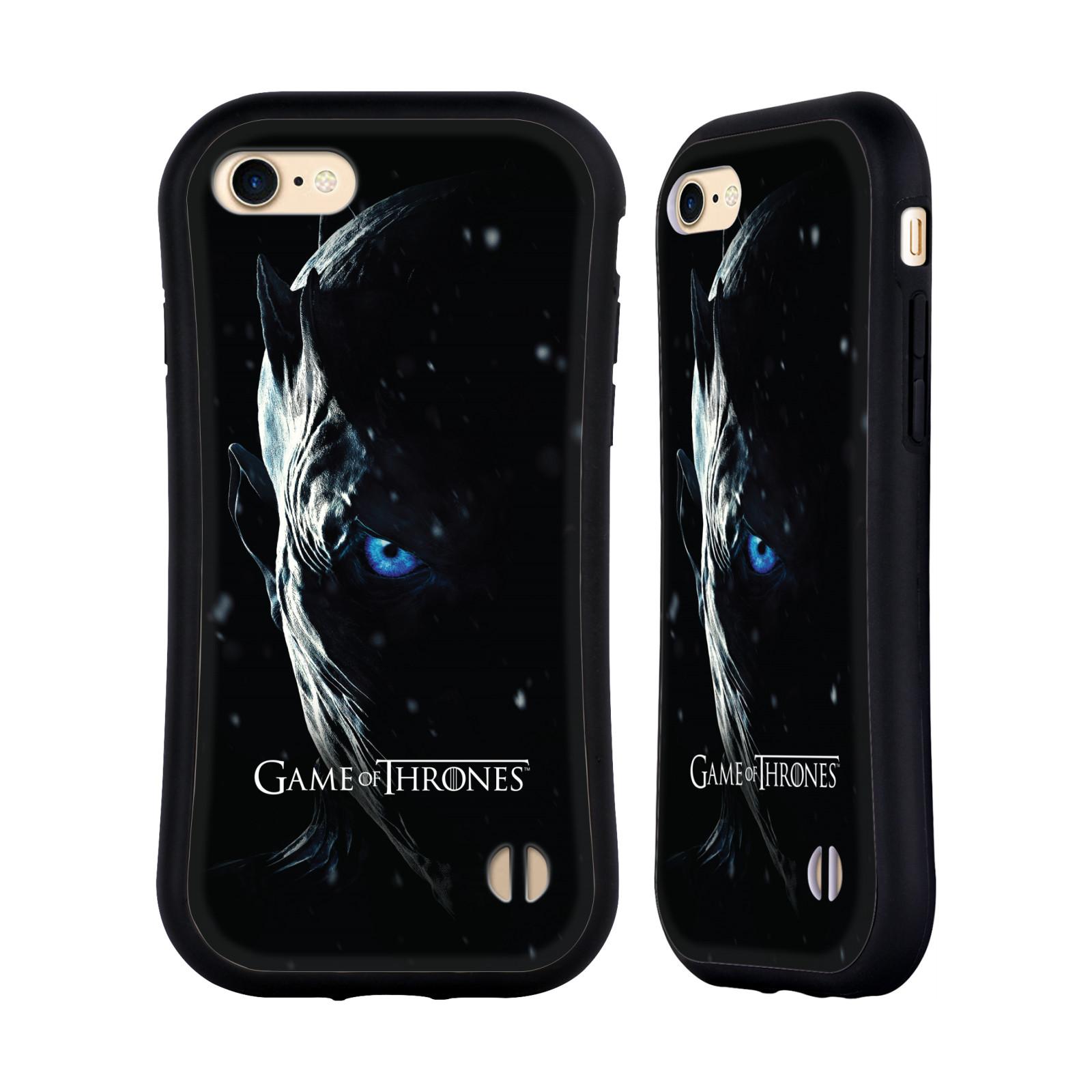 HEAD CASE odolný obal na mobil Apple Iphone 8 oficiální kryt Hra o trůny Noční král (7 série)