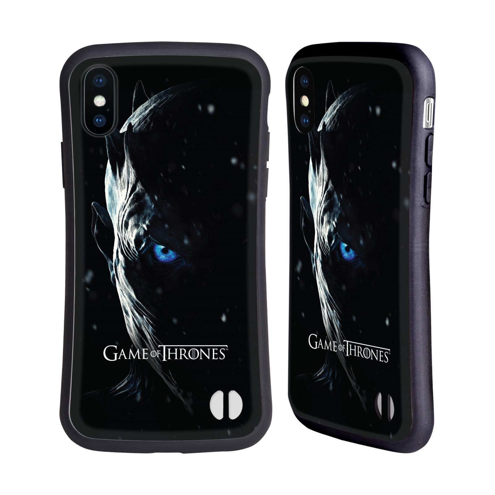 HEAD CASE odolný obal na mobil Apple Iphone X a XS oficiální kryt Hra o trůny Noční král (7 série)
