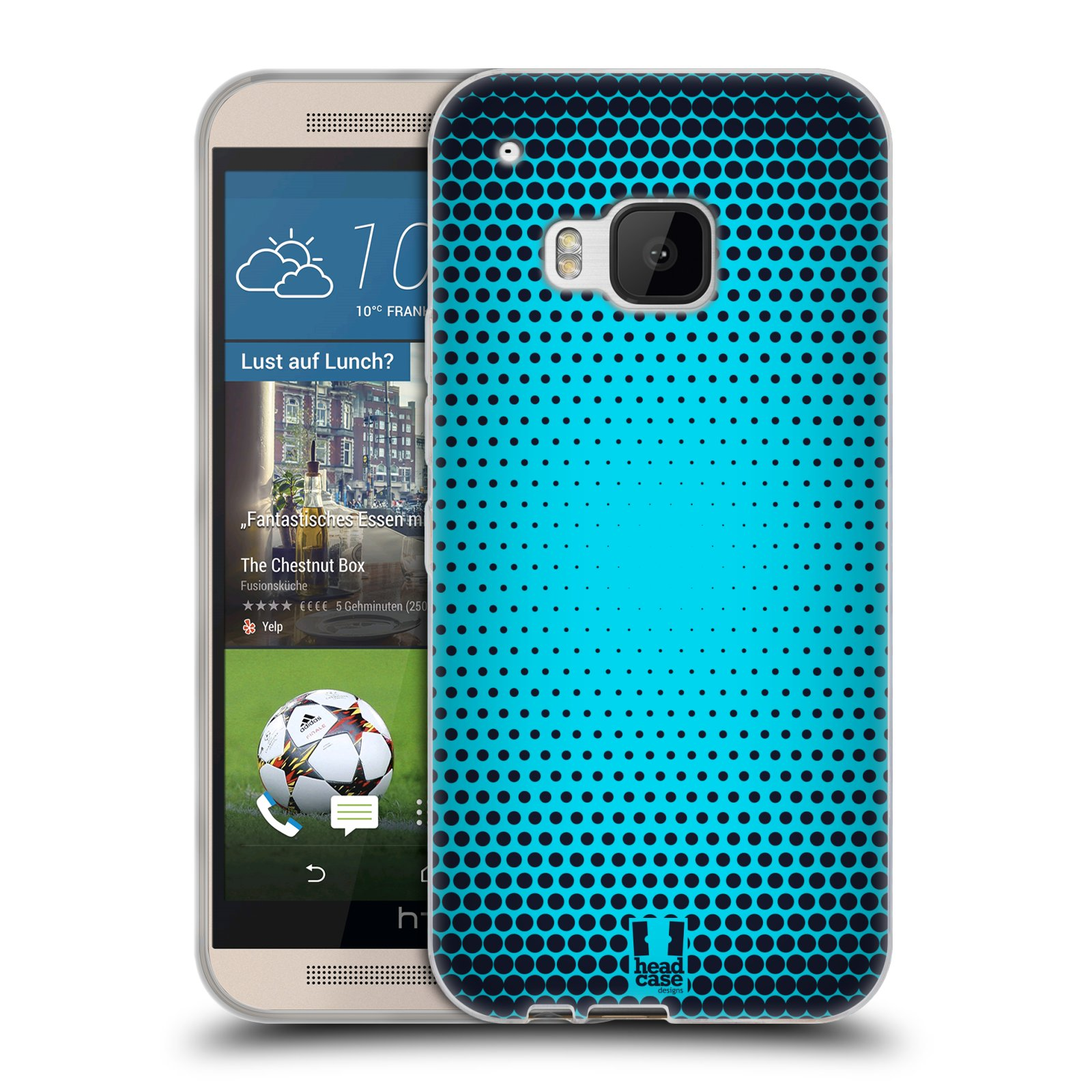 HEAD CASE HALFTONES SILICONE GEL CASE FOR HTC ONE M9
