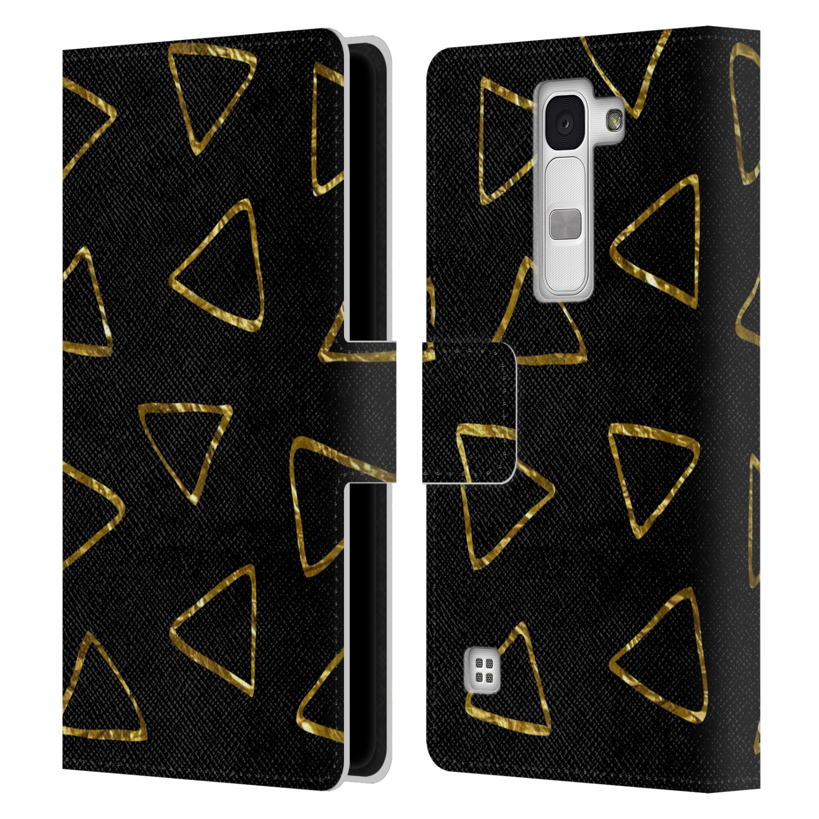 Book Cover Black And Gold ~ Official haroulita black and gold leather book wallet case
