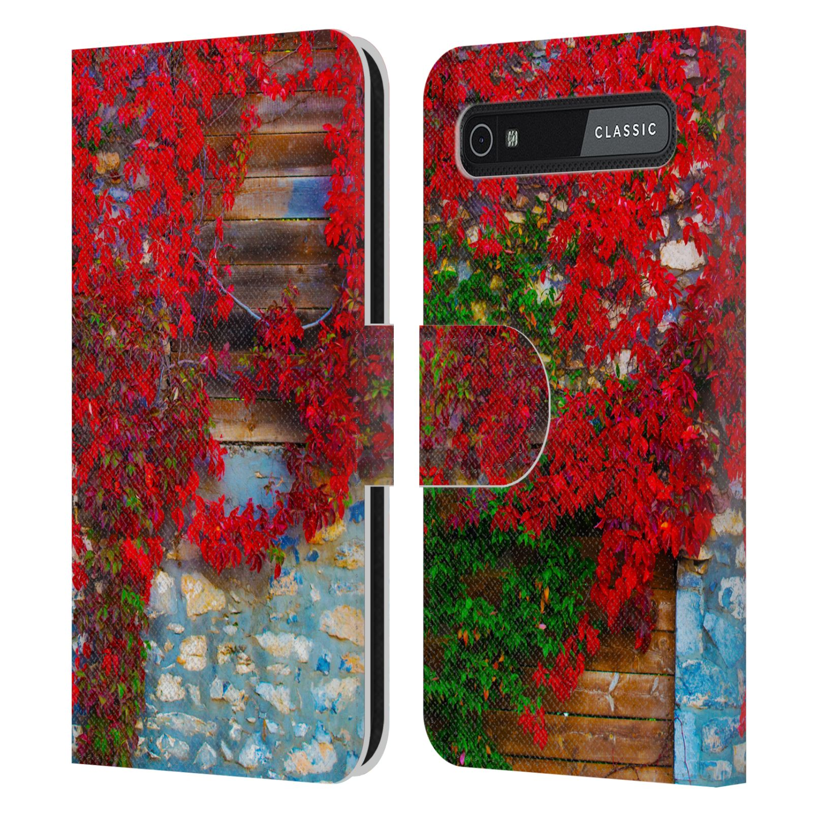 Book Cover Black Berry : Haroulita fantasy leather book wallet case for