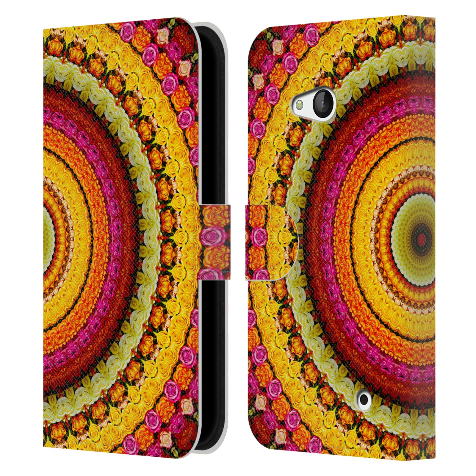 OFFICIAL-HAROULITA-MANDALA-LEATHER-BOOK-WALLET-CASE-FOR-MICROSOFT-NOKIA-PHONES