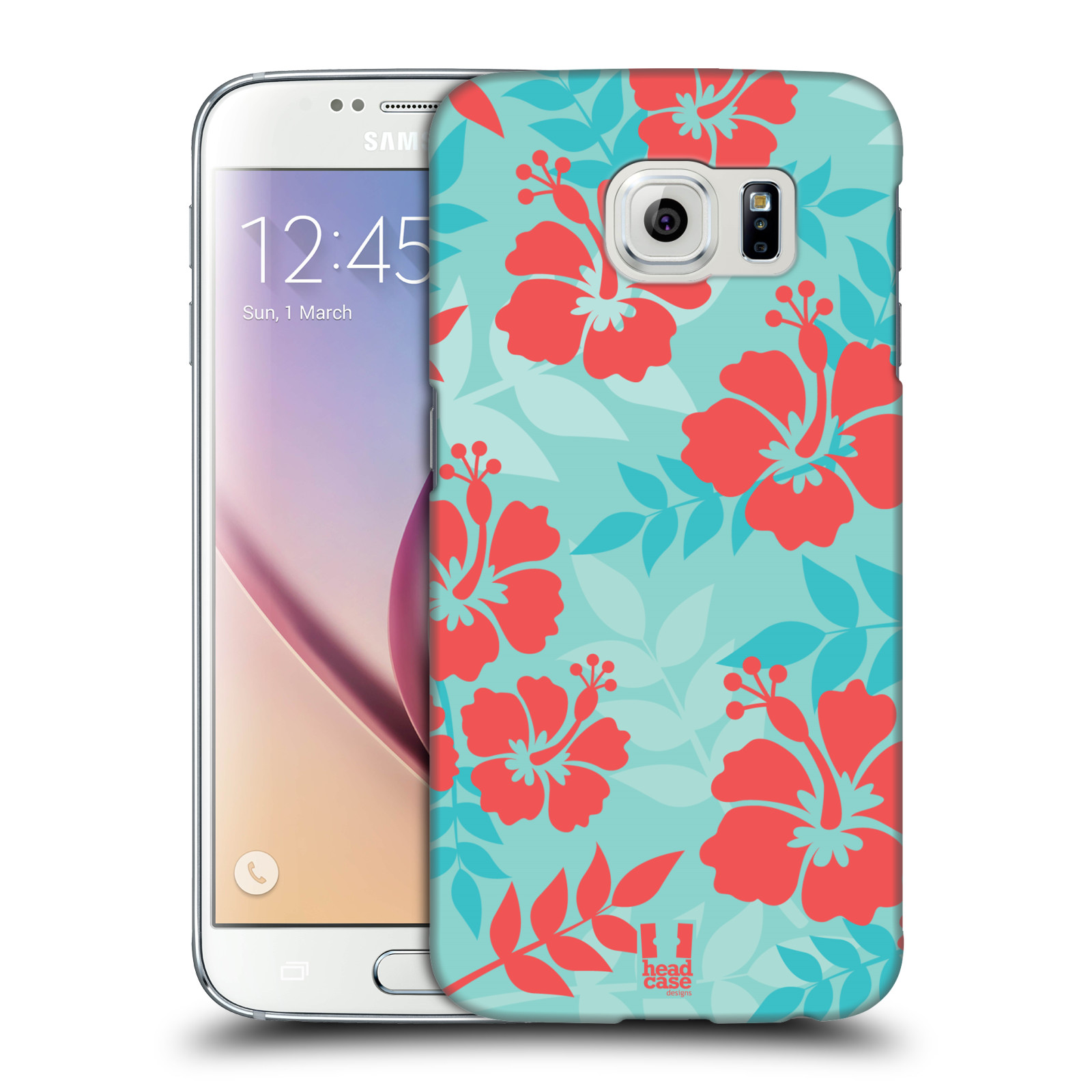 Head case designs hawaiian patterns hard back case for for Cell phone cover design ideas