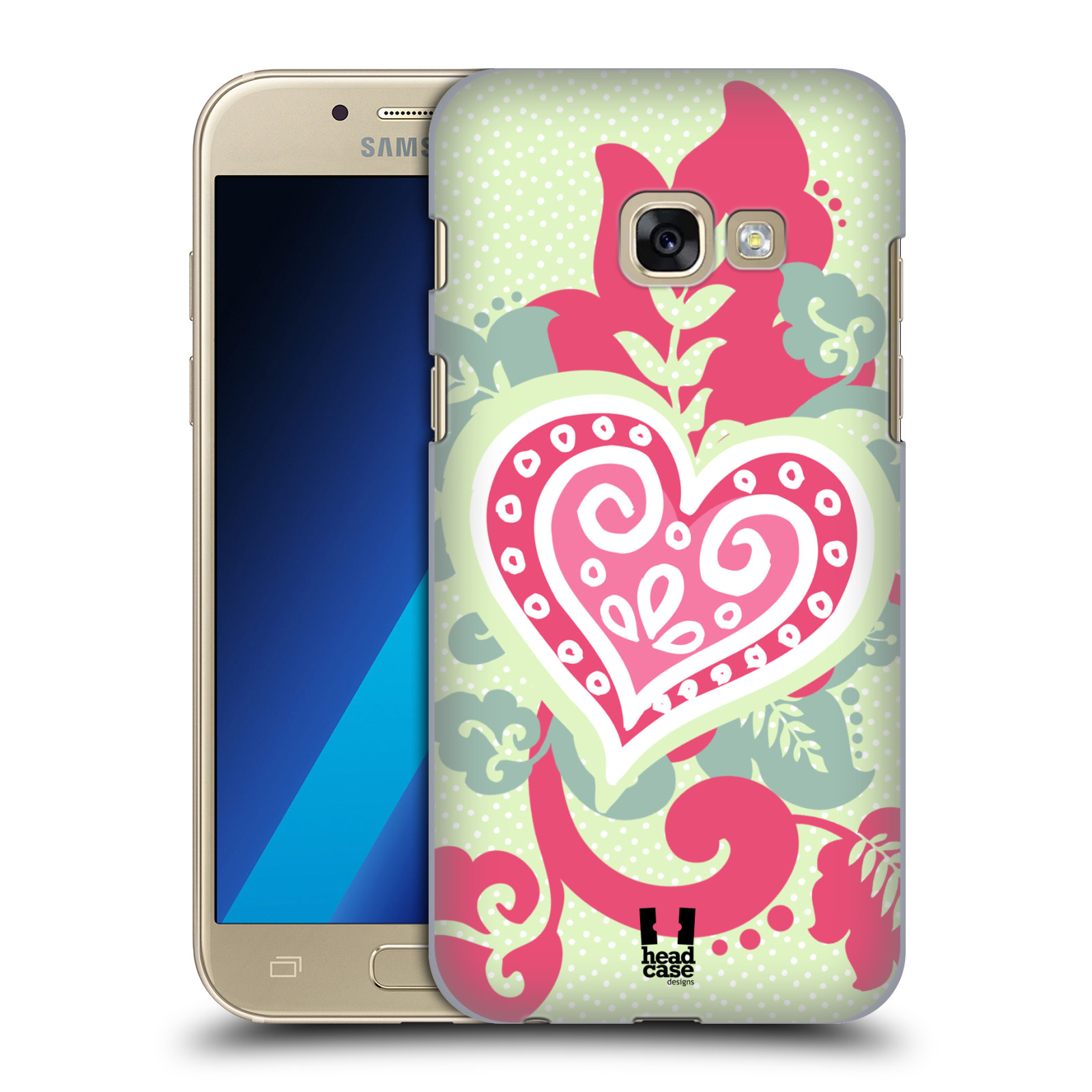 HEAD-CASE-DESIGNS-HEART-COLLECTION-HARD-BACK-CASE-FOR-SAMSUNG-GALAXY-A3-2017