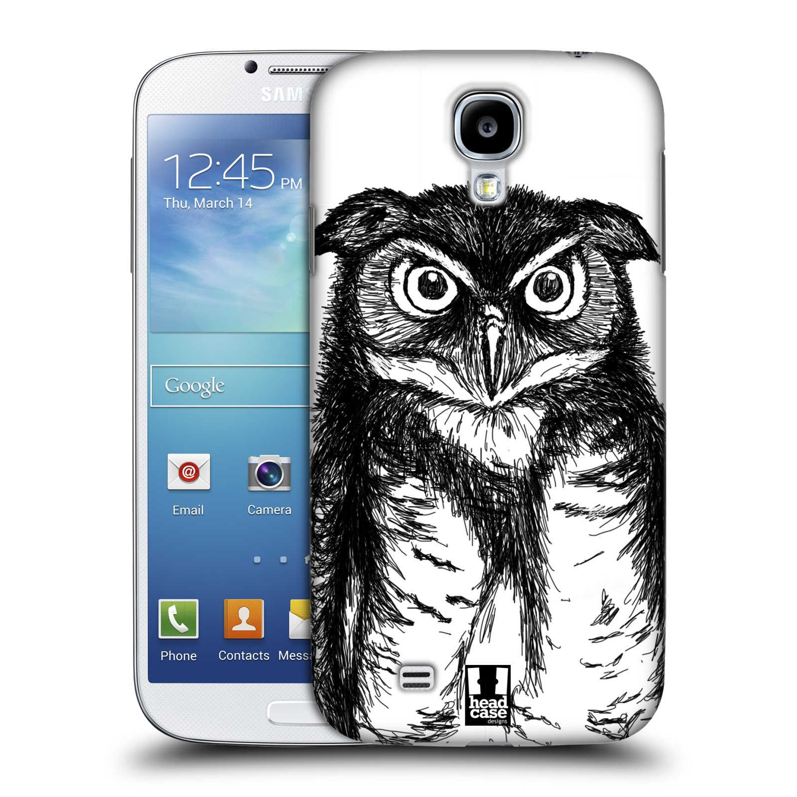 HEAD CASE DESIGNS HAND DRAWN ANIMAL CASE COVER FOR SAMSUNG GALAXY S4 I9500