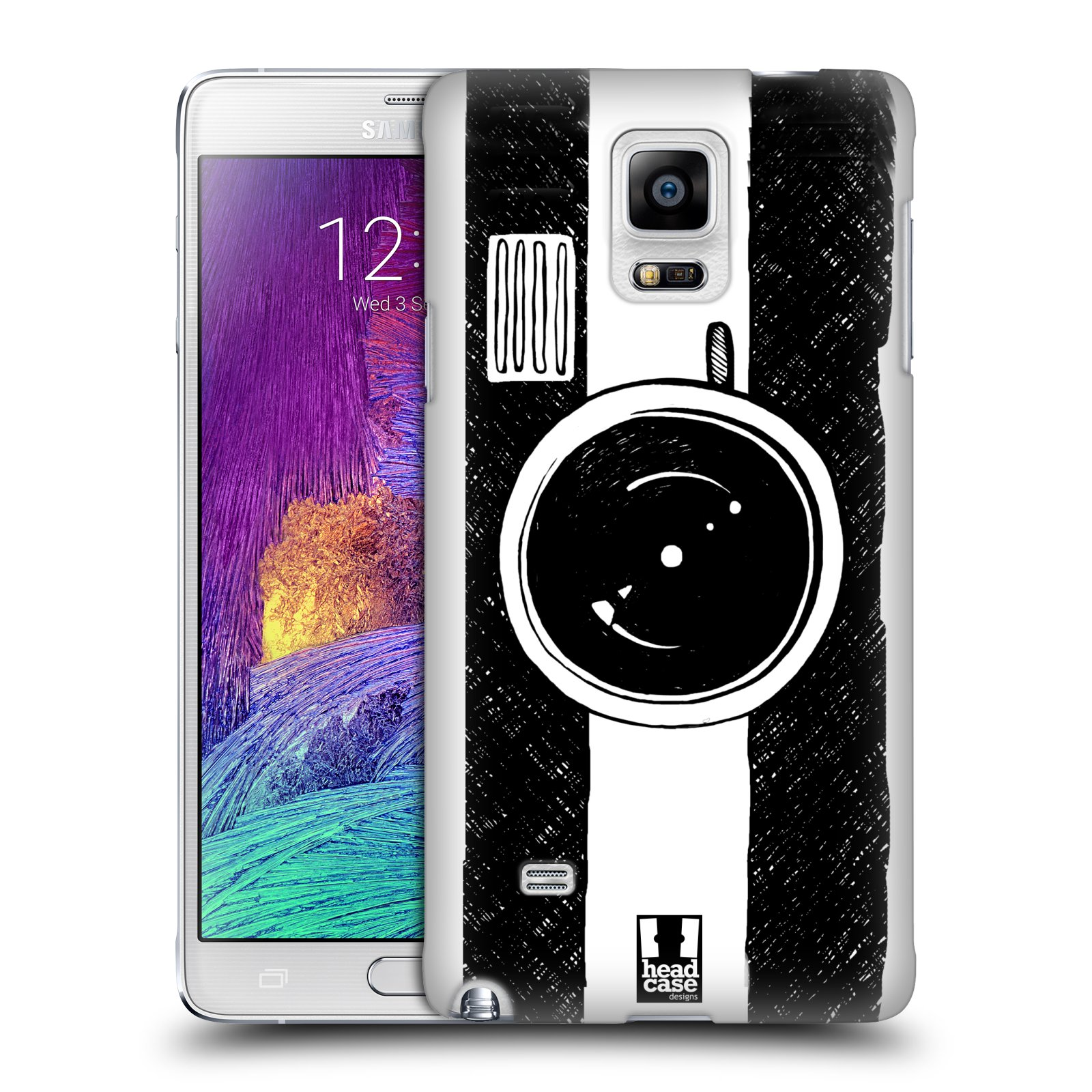 HEAD CASE DRAWN GADGETS SNAP-ON BACK COVER FOR SAMSUNG GALAXY NOTE 4