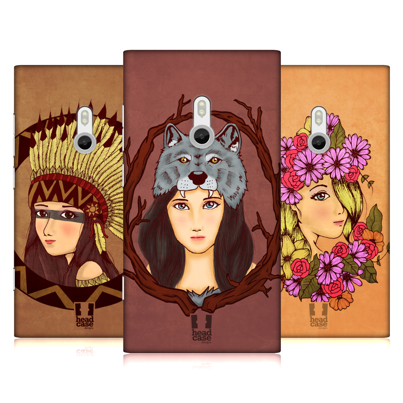 HEAD-CASE-DESIGNS-HEADDRESS-CHIC-HARD-BACK-CASE-FOR-NOKIA-PHONES-2