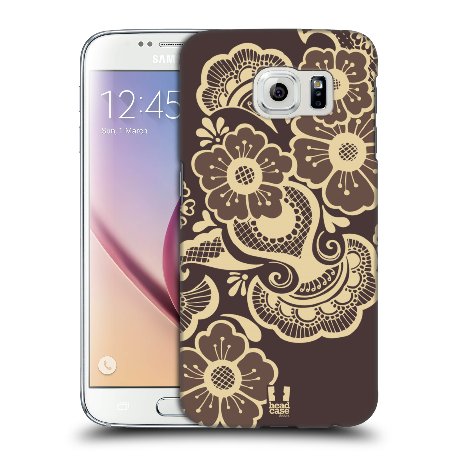 HEAD CASE DESIGNS HENNA HARD BACK CASE FOR SAMSUNG PHONES
