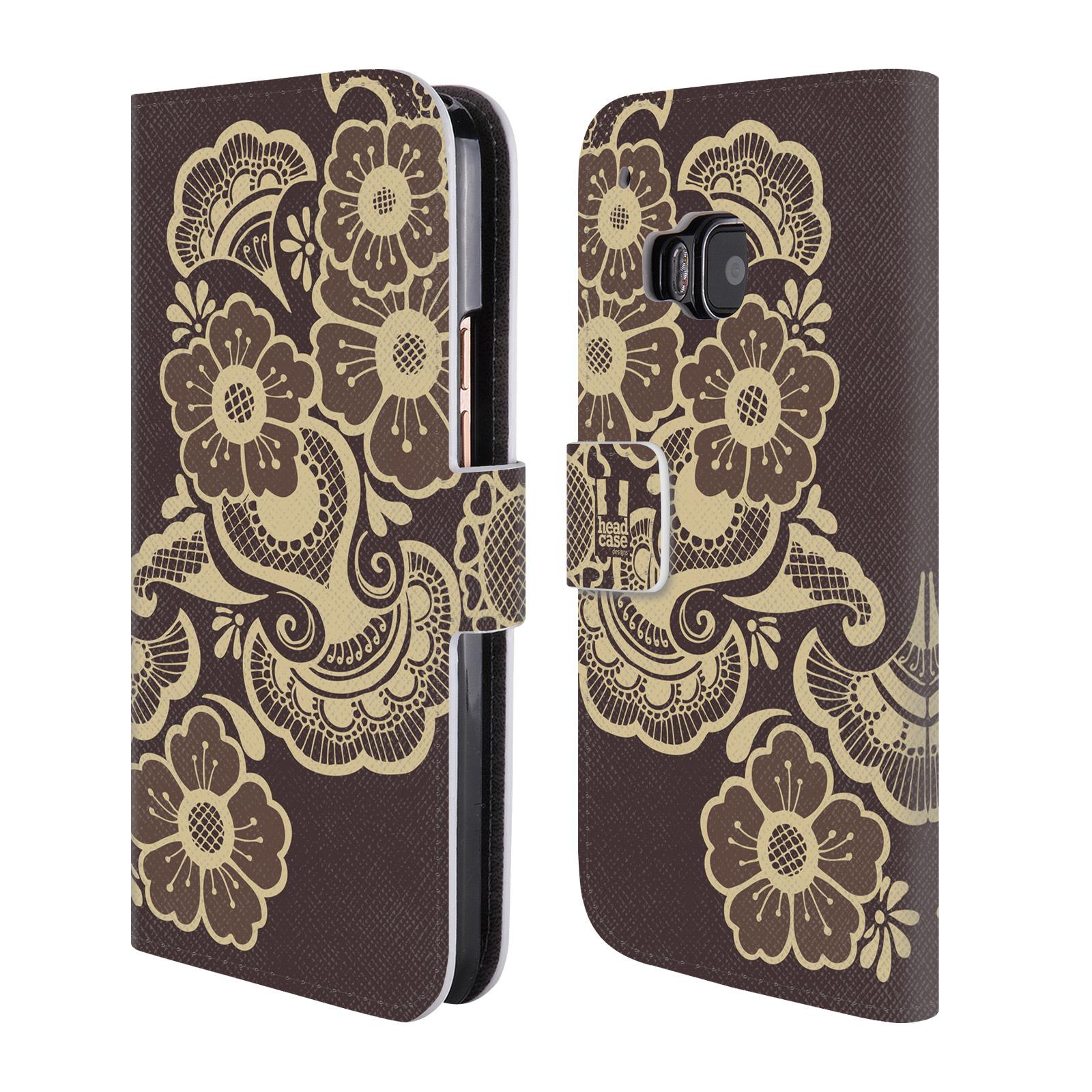 head case henna brieftasche handyh lle aus leder f r htc. Black Bedroom Furniture Sets. Home Design Ideas