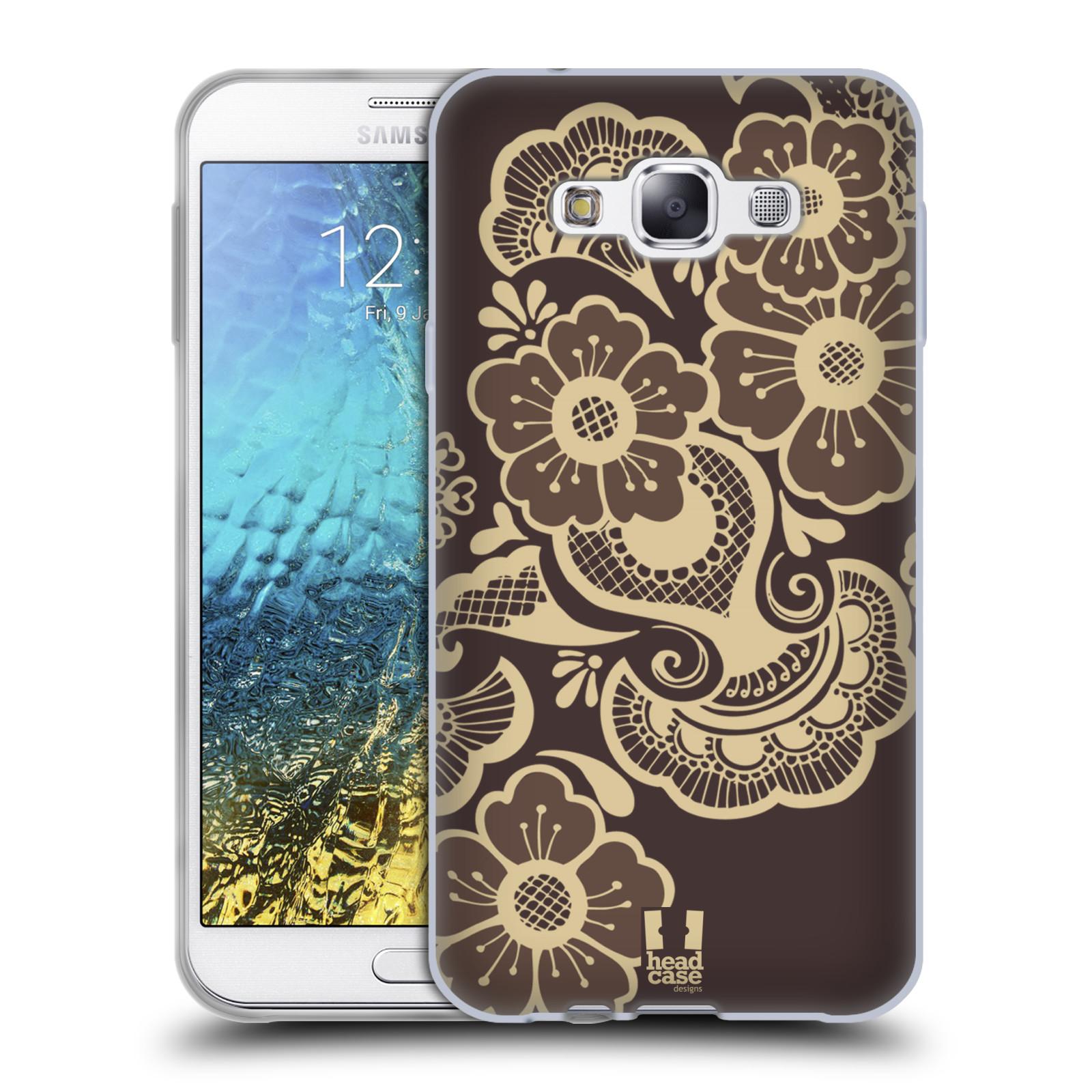 HEAD CASE DESIGNS HENNA SOFT GEL CASE FOR SAMSUNG PHONES 3