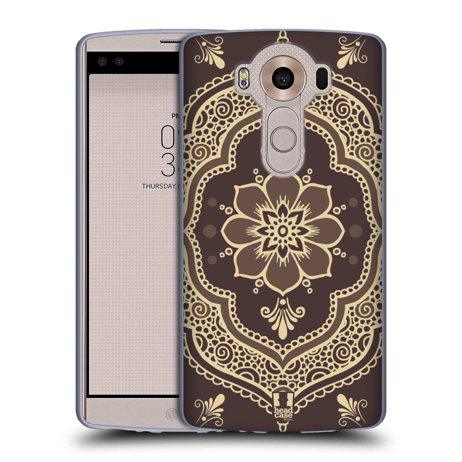 HEAD CASE silikonový obal na mobil LG V10 (H960A) vzor Hena tetování MANDALA
