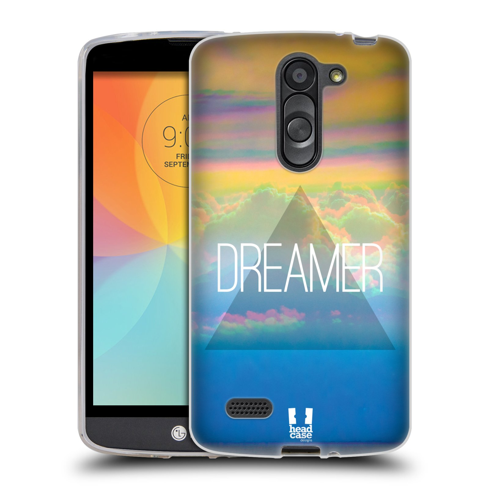 HEAD CASE HIPSTER GETAWAYS SILICONE GEL CASE FOR LG L BELLO D331