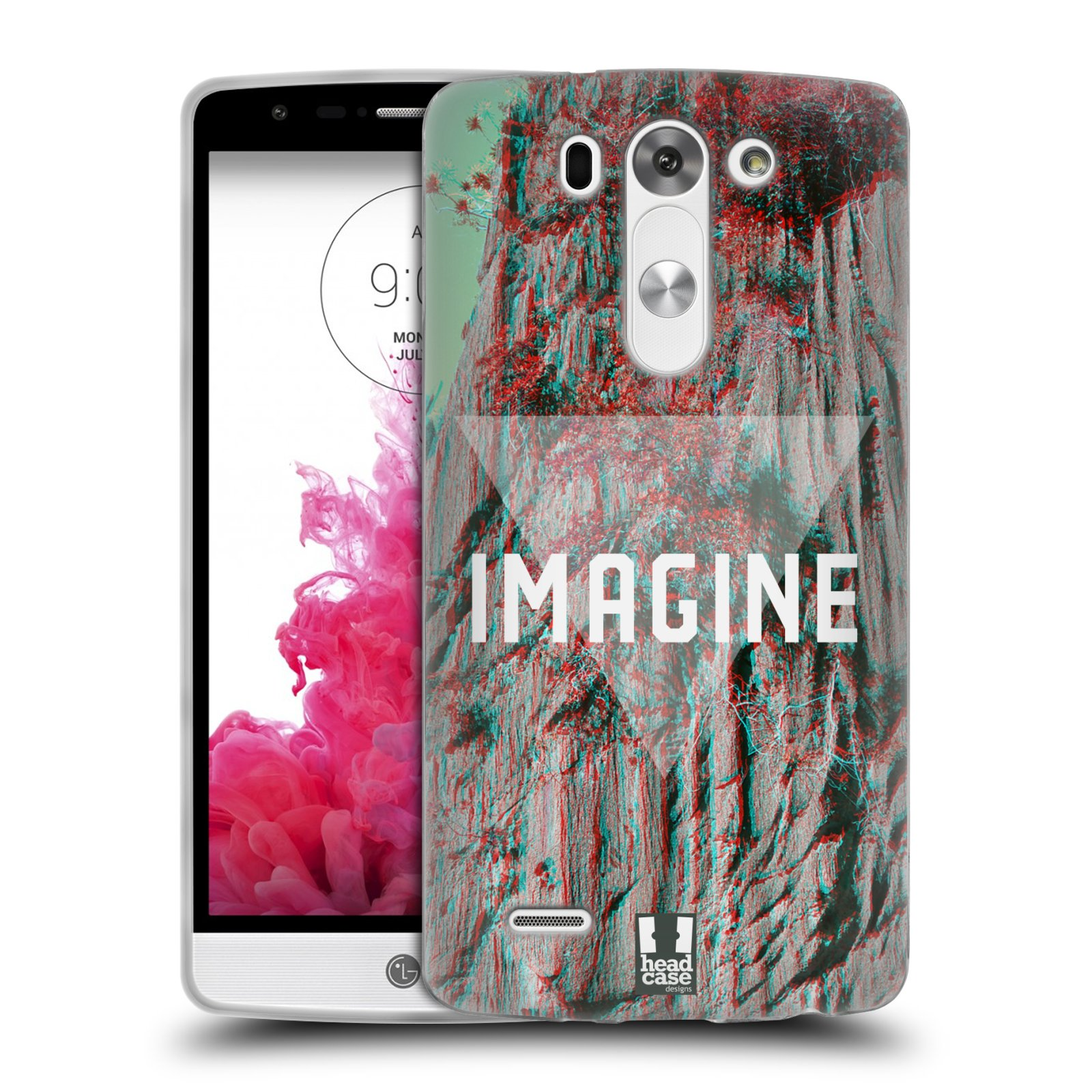 HEAD CASE HIPSTER GETAWAYS SILICONE GEL CASE FOR LG G3 S D722