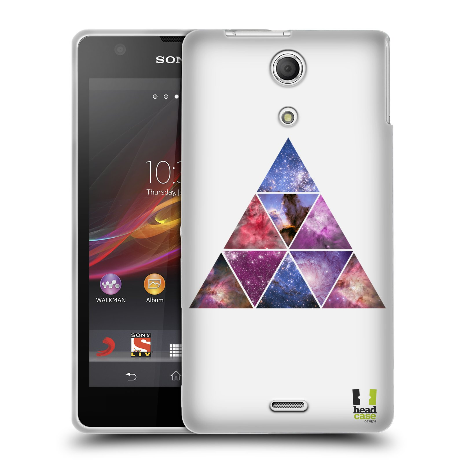 HEAD CASE HIPSTERISM SILICONE GEL CASE FOR SONY XPERIA ZR