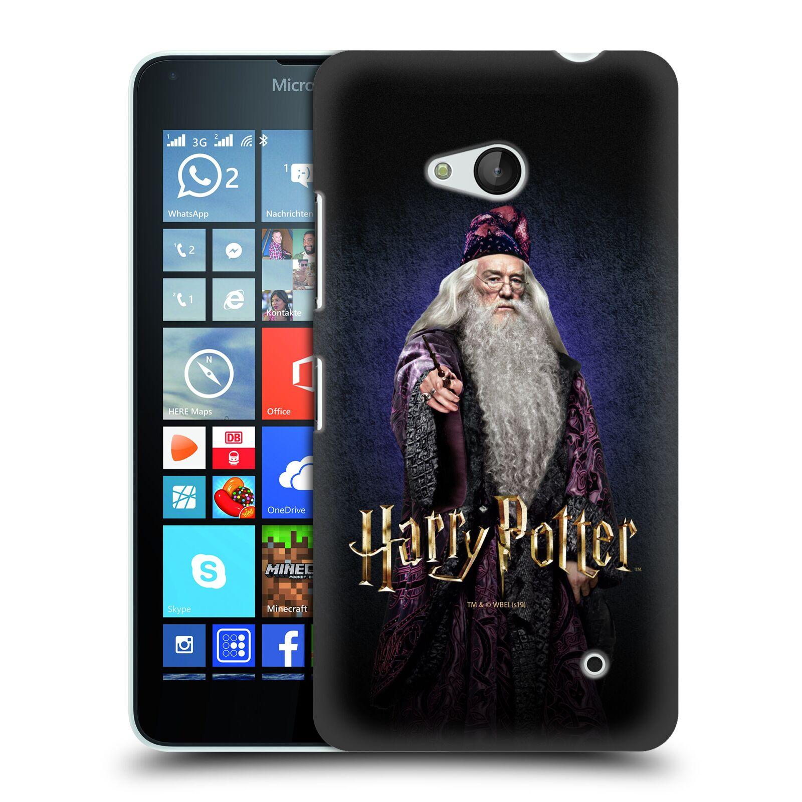 Pouzdro na mobil Microsoft Lumia 640 / 640 DUAL SIM - HEAD CASE - Albus Brumbál