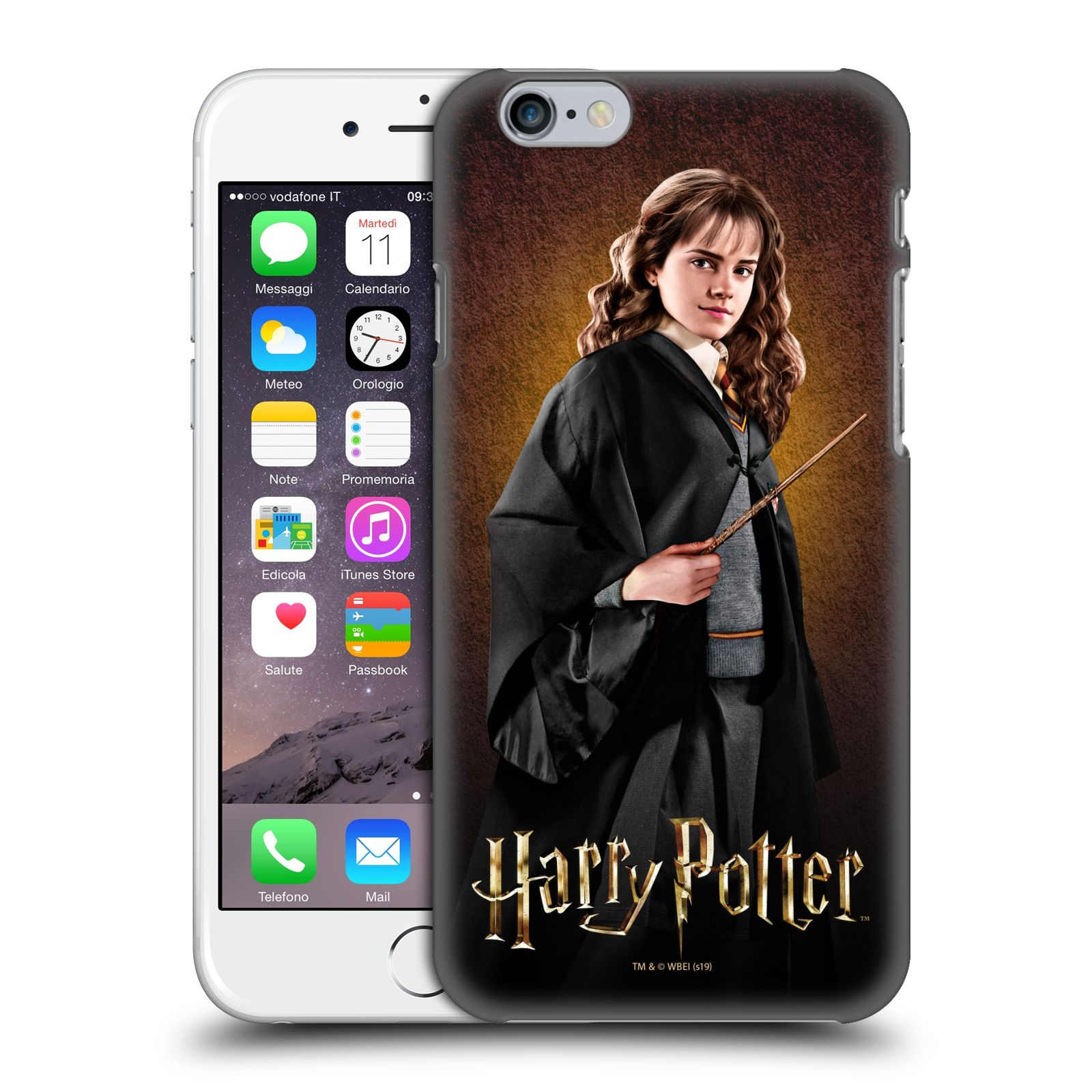 Pouzdro na mobil Apple Iphone 6/6S - HEAD CASE - Hermiona Grangerová