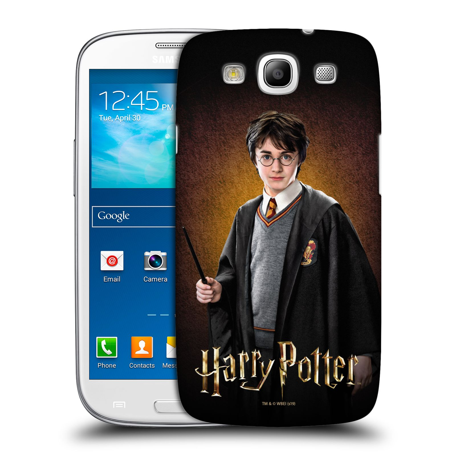 Pouzdro na mobil Samsung Galaxy S3 - HEAD CASE - Harry Potter portrét