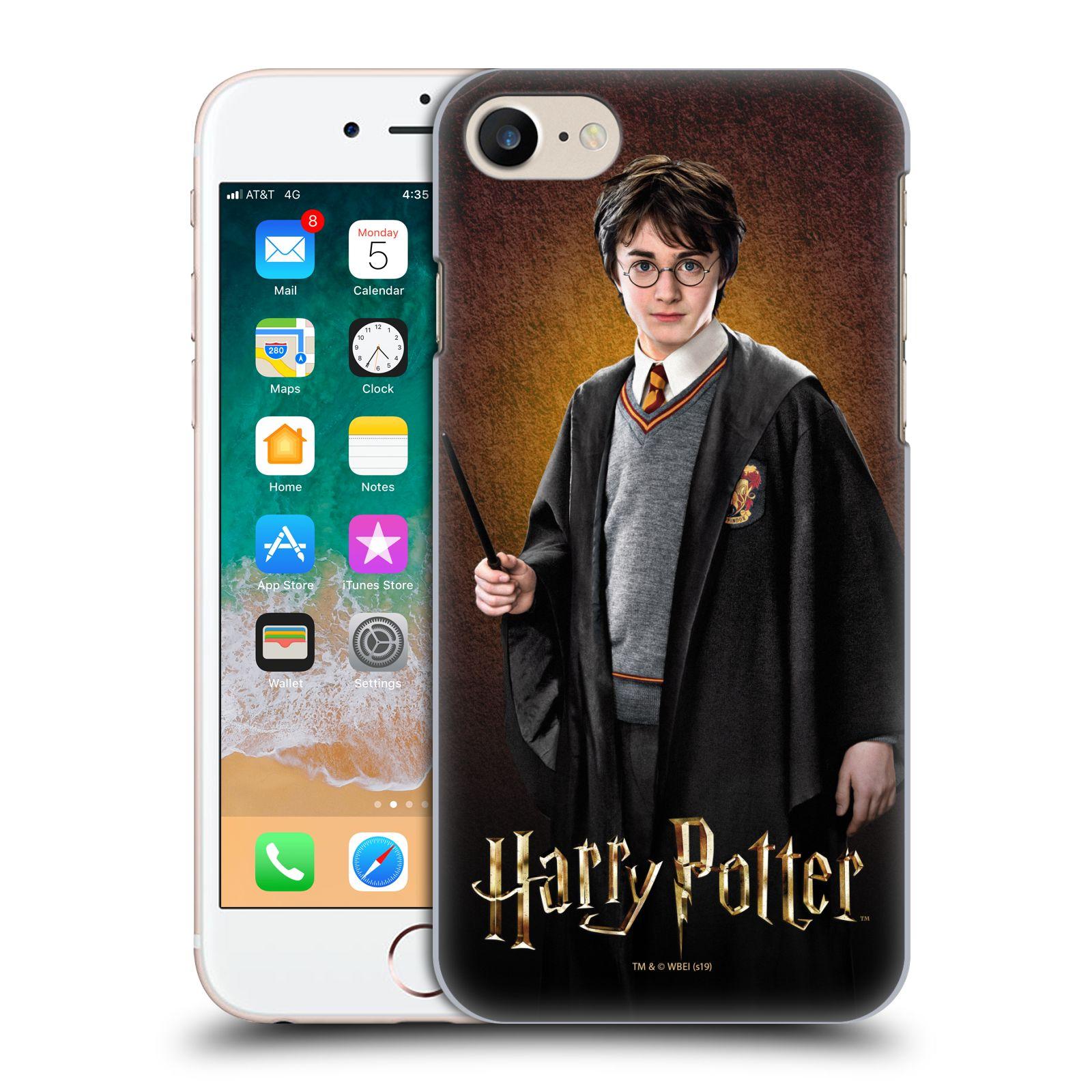 Pouzdro na mobil Apple Iphone 7/8 - HEAD CASE - Harry Potter portrét