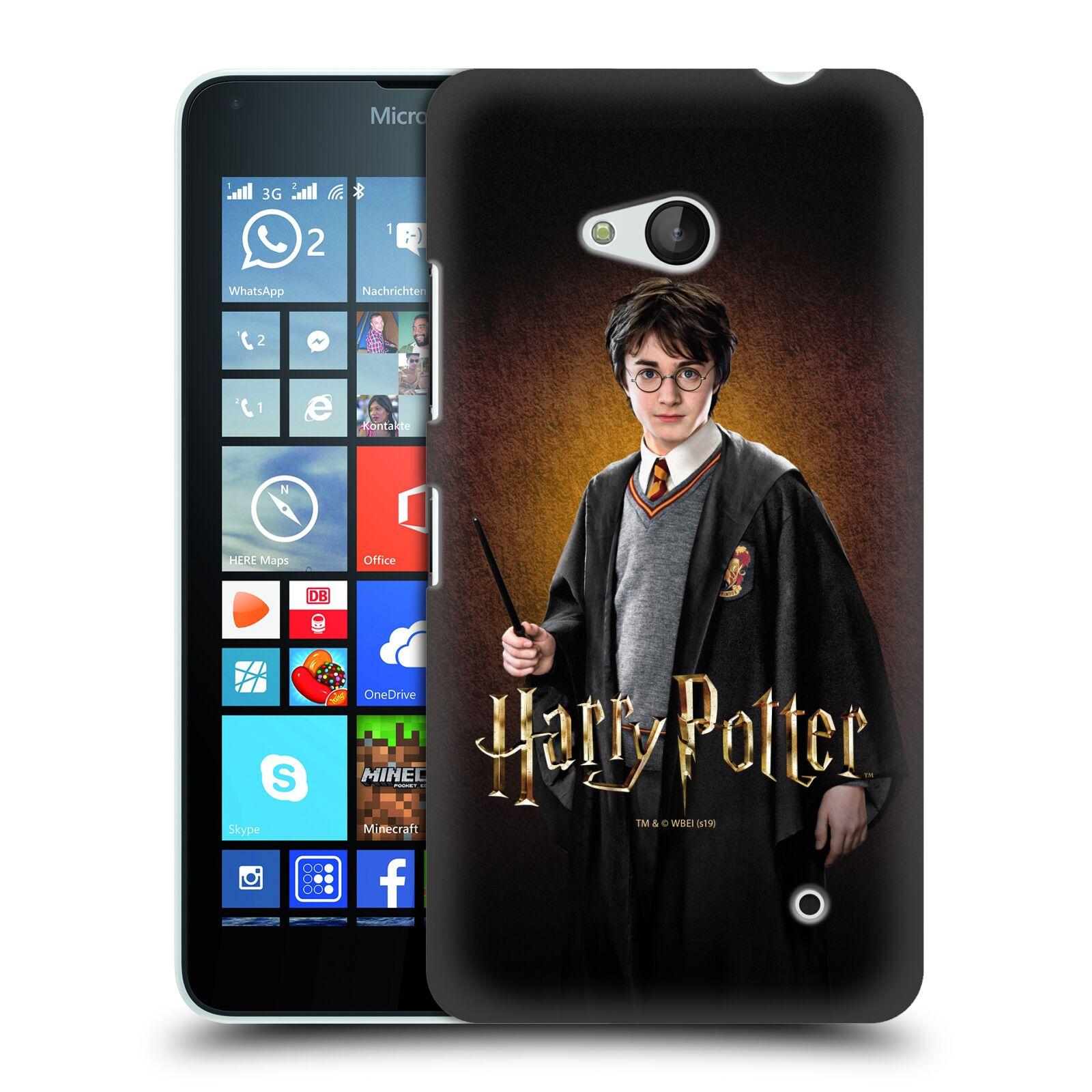 Pouzdro na mobil Microsoft Lumia 640 / 640 DUAL SIM - HEAD CASE - Harry Potter portrét